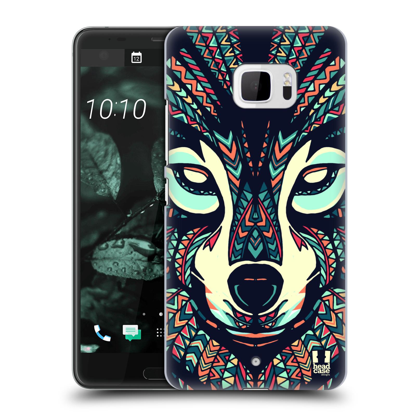 Plastové pouzdro na mobil HTC U Ultra Head Case - AZTEC VLK (Plastový kryt či obal na mobilní telefon HTC U Ultra (99HALT015-00))