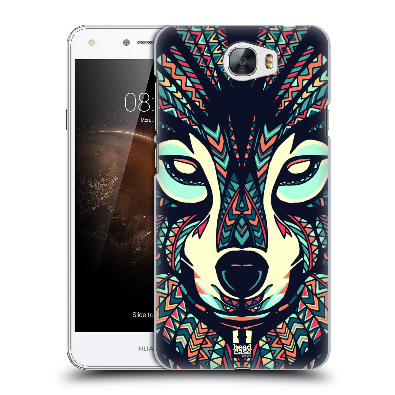 Plastové pouzdro na mobil Huawei Y5 II HEAD CASE AZTEC VLK