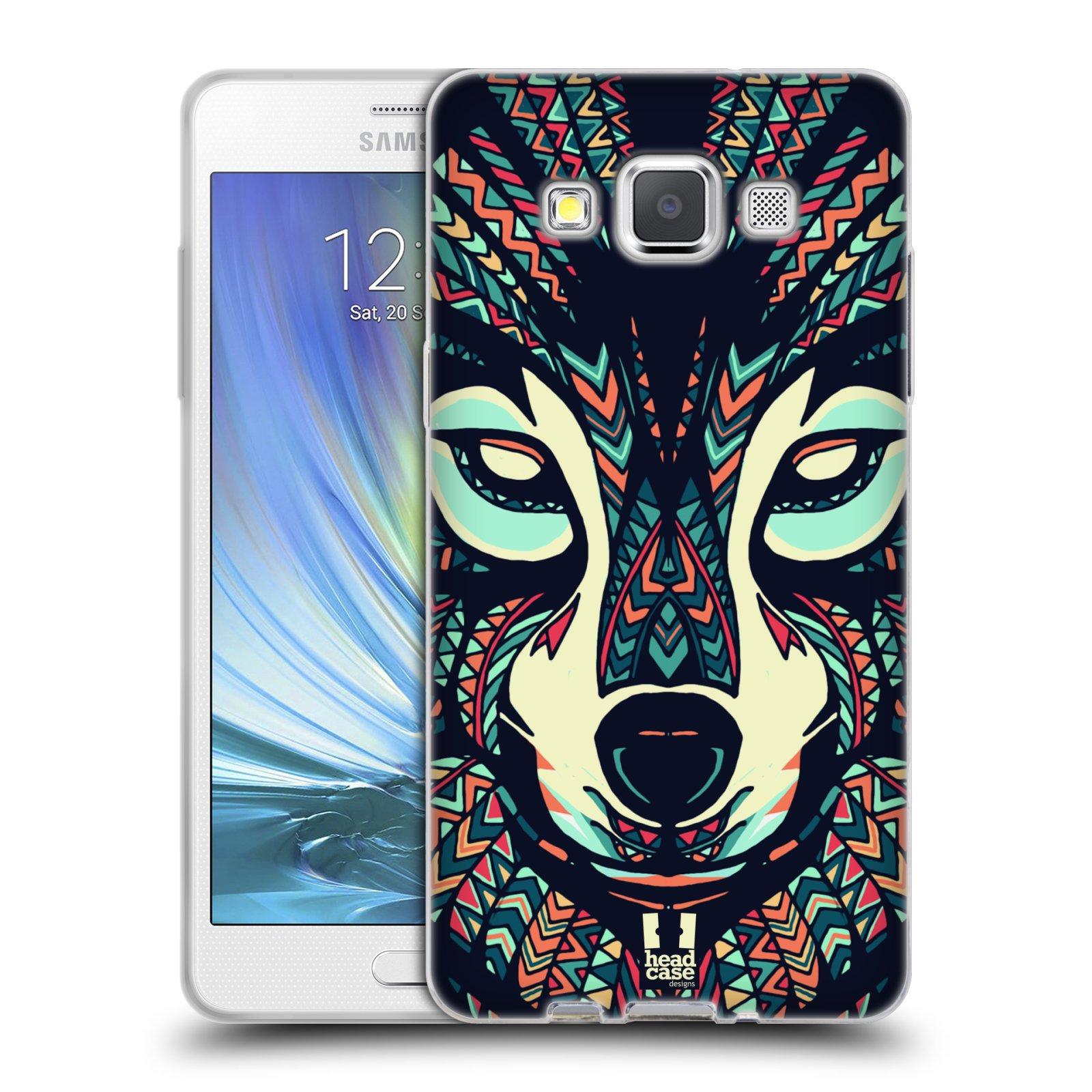 Silikonové pouzdro na mobil Samsung Galaxy A5 HEAD CASE AZTEC VLK