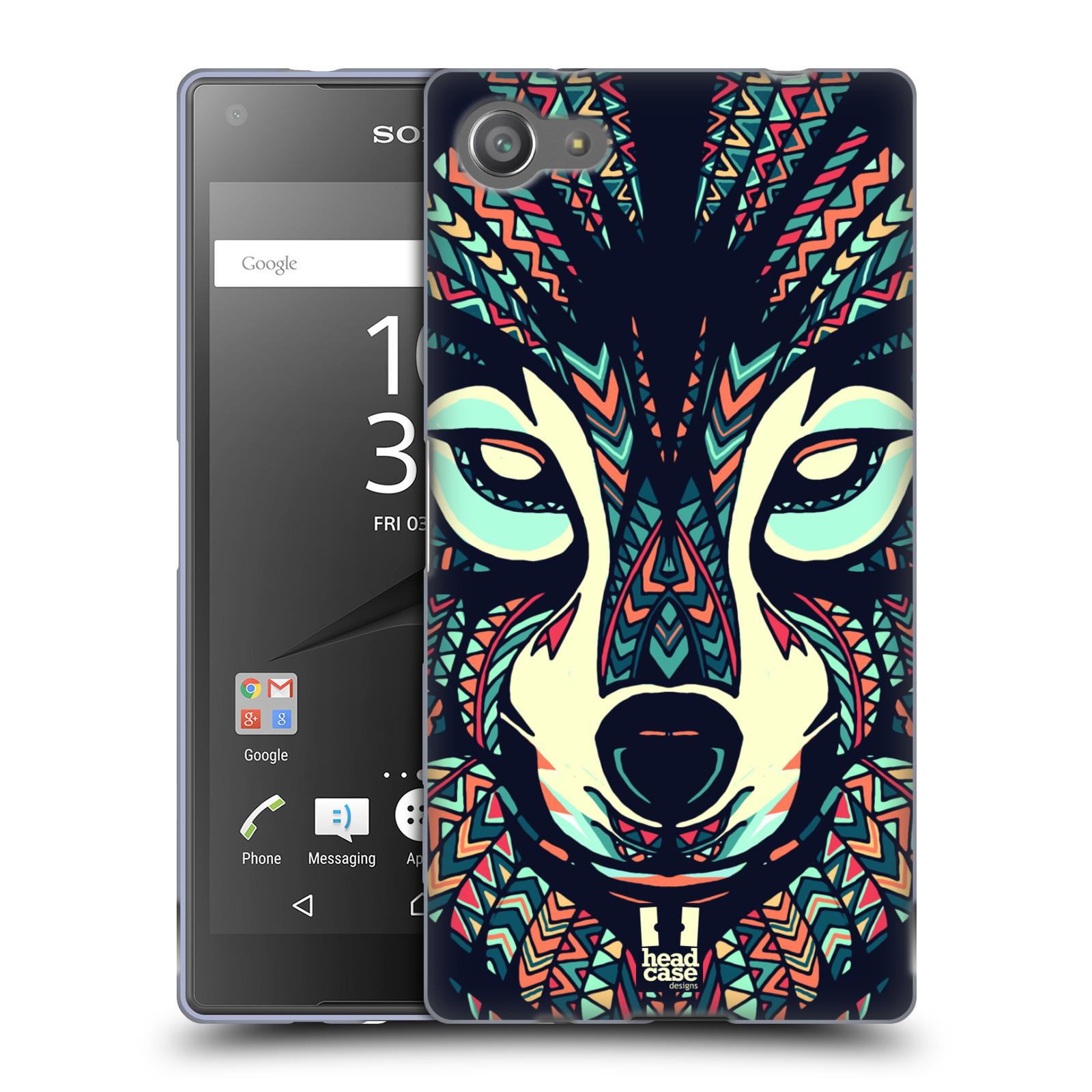 Silikonové pouzdro na mobil Sony Xperia Z5 Compact HEAD CASE AZTEC VLK