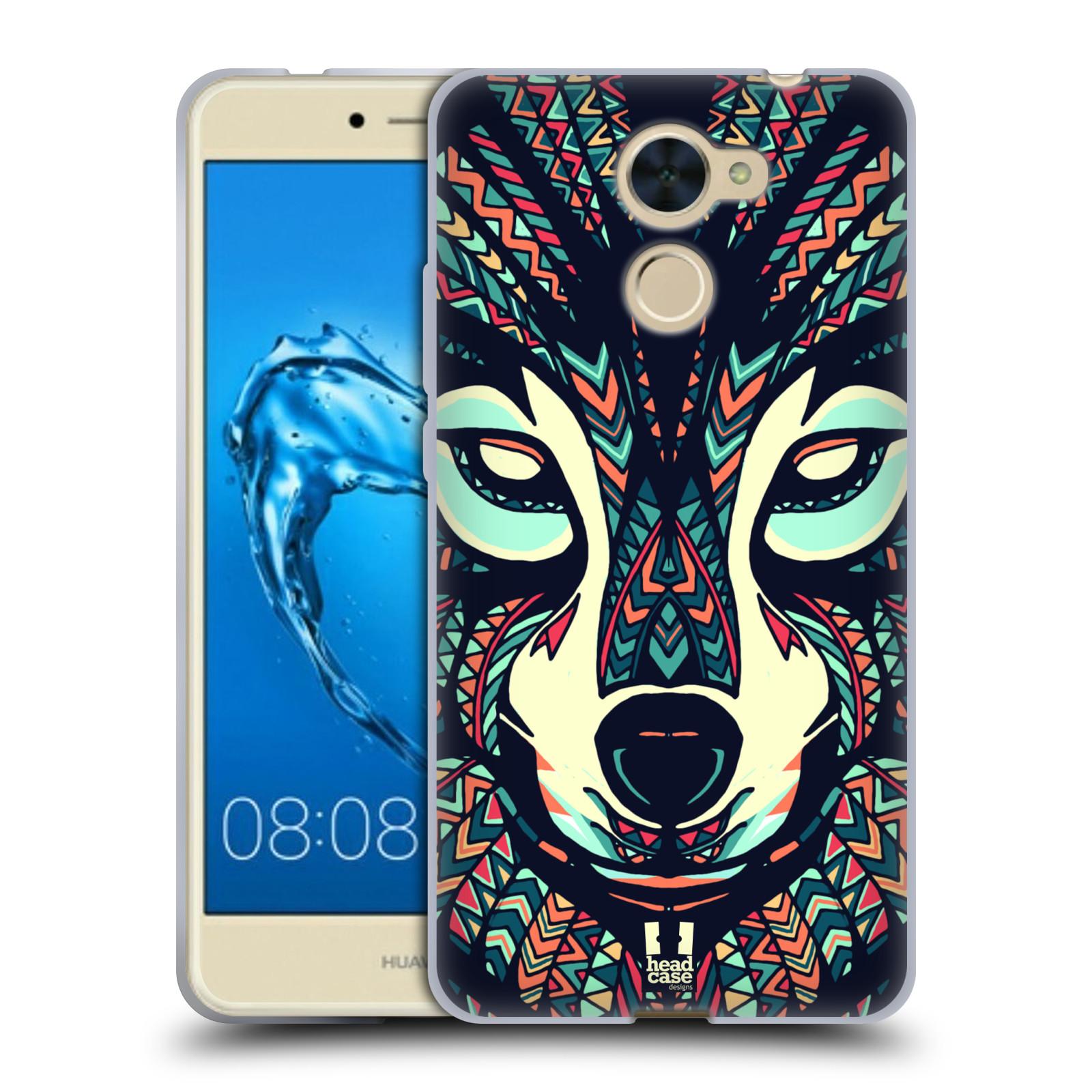 Silikonové pouzdro na mobil Huawei Y7 - Head Case - AZTEC VLK