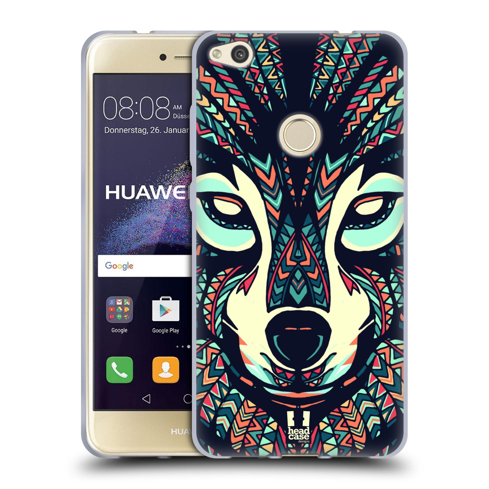 Silikonové pouzdro na mobil Honor 8 Lite - Head Case - AZTEC VLK (Silikonový kryt či obal na mobilní telefon Honor 8 Lite s motivem AZTEC VLK)