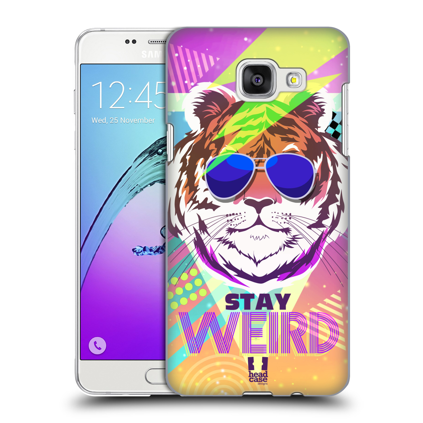 Plastové pouzdro na mobil Samsung Galaxy A5 (2016) HEAD CASE STAY WEIRD