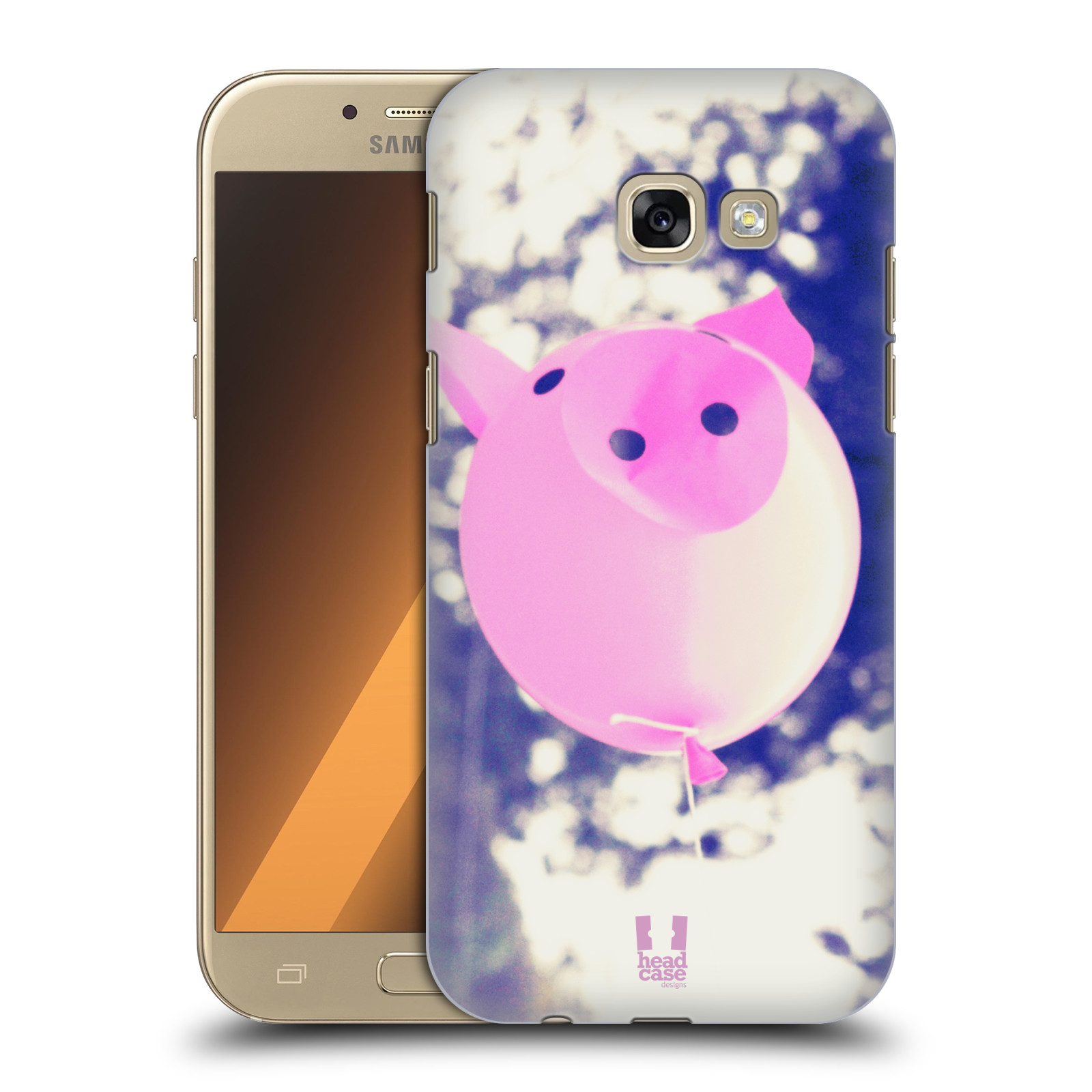 Plastové pouzdro na mobil Samsung Galaxy A5 (2017) HEAD CASE BALON PAŠÍK