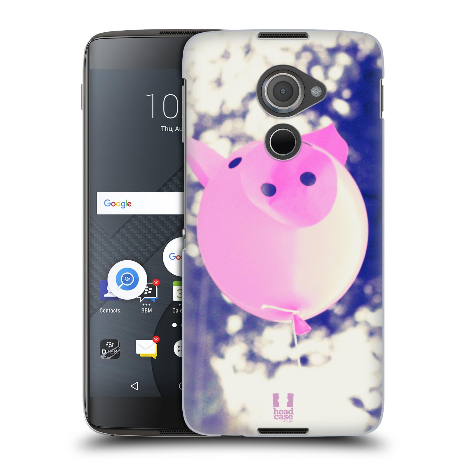 Plastové pouzdro na mobil Blackberry DTEK60 (Argon) - Head Case BALON PAŠÍK