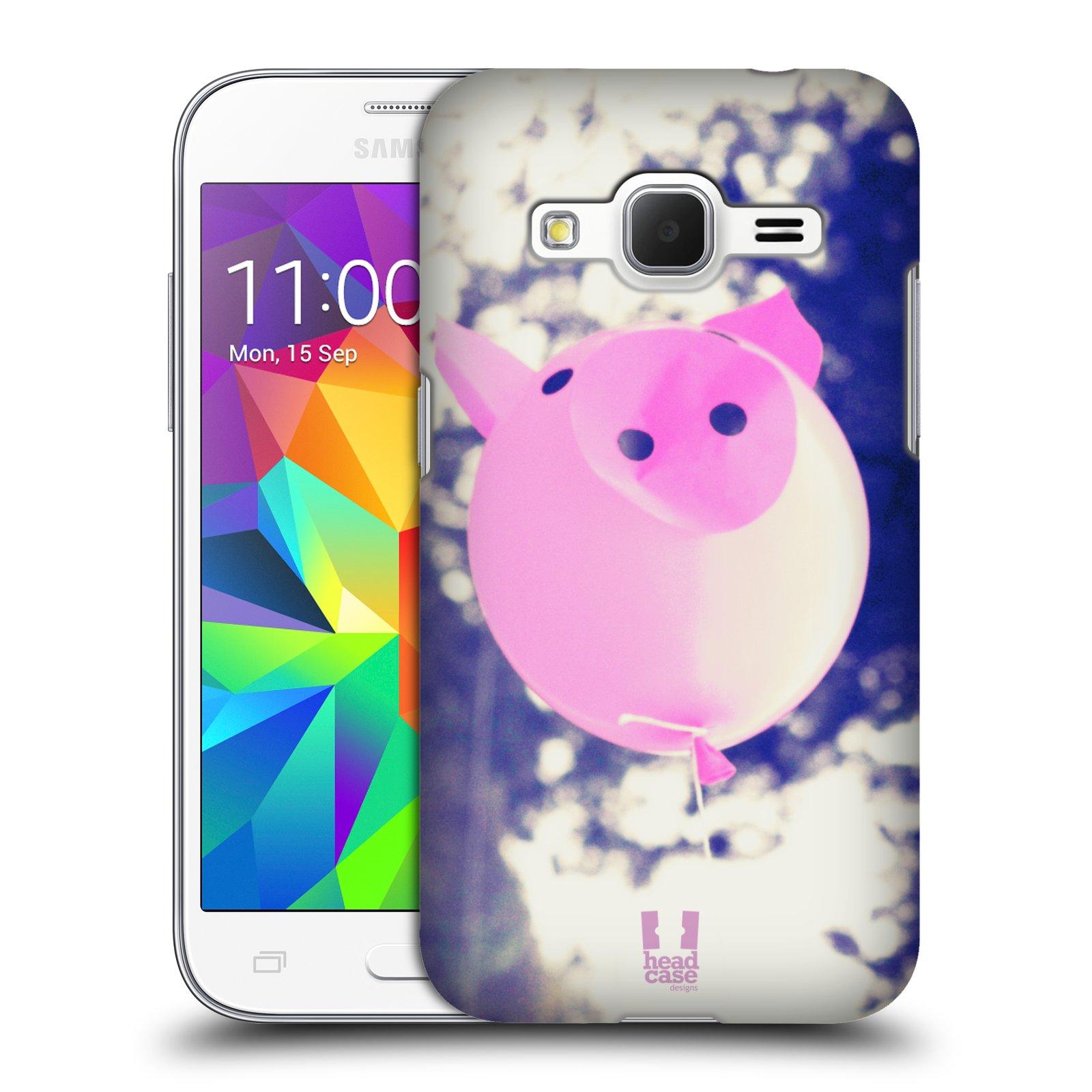 Plastové pouzdro na mobil Samsung Galaxy Core Prime LTE HEAD CASE BALON PAŠÍK