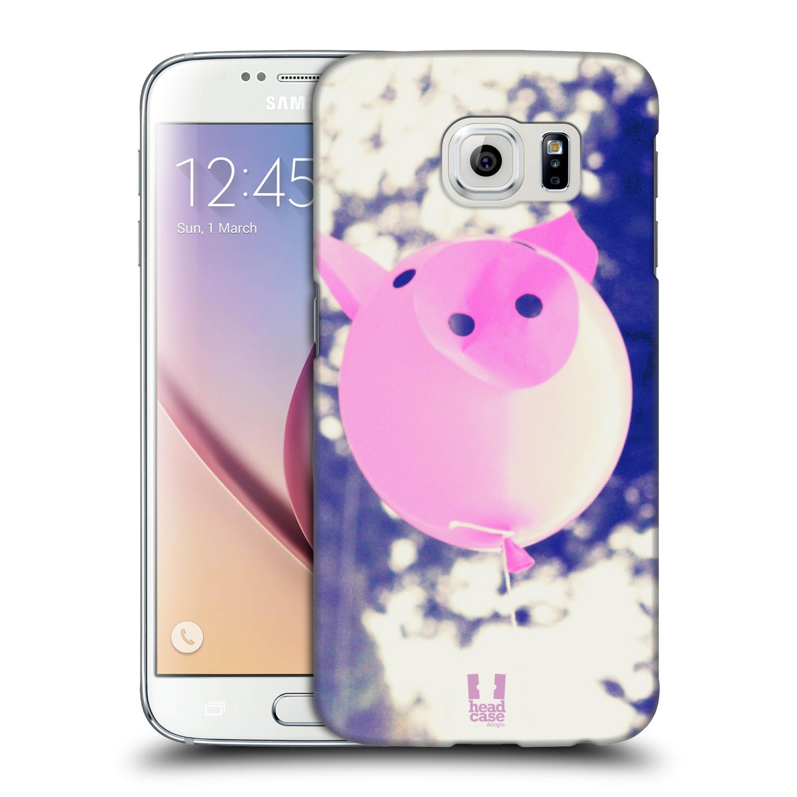 Plastové pouzdro na mobil Samsung Galaxy S6 HEAD CASE BALON PAŠÍK