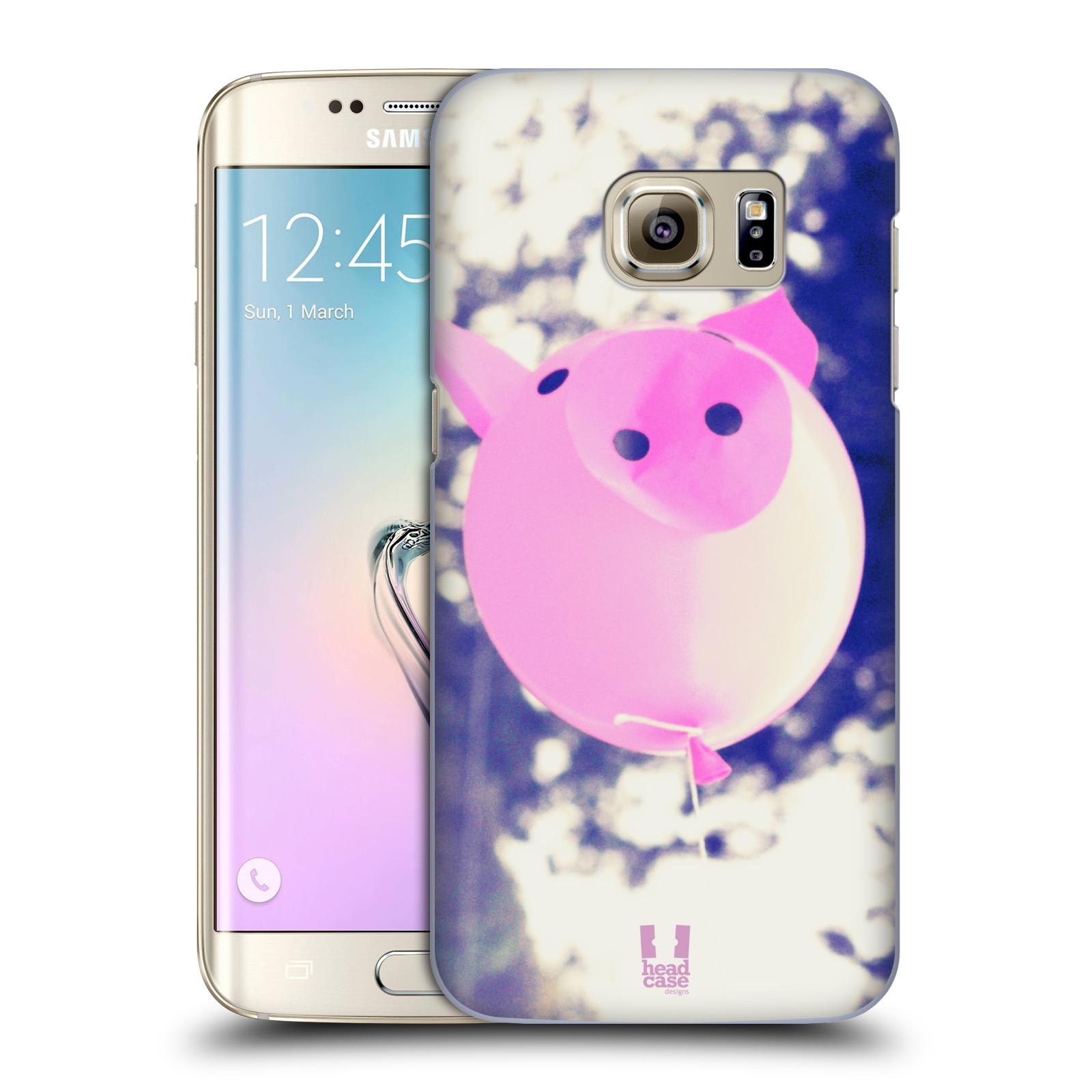 Plastové pouzdro na mobil Samsung Galaxy S7 Edge HEAD CASE BALON PAŠÍK