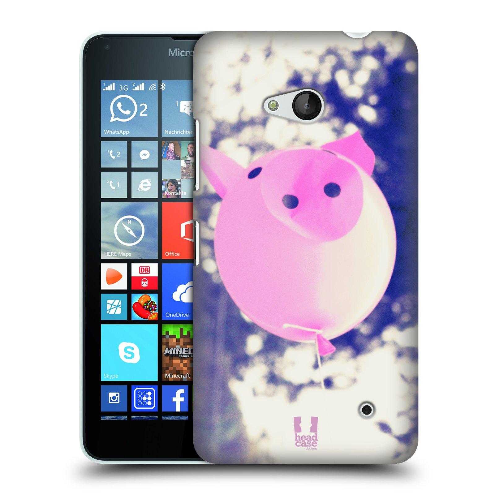 Plastové pouzdro na mobil Microsoft Lumia 640 HEAD CASE BALON PAŠÍK