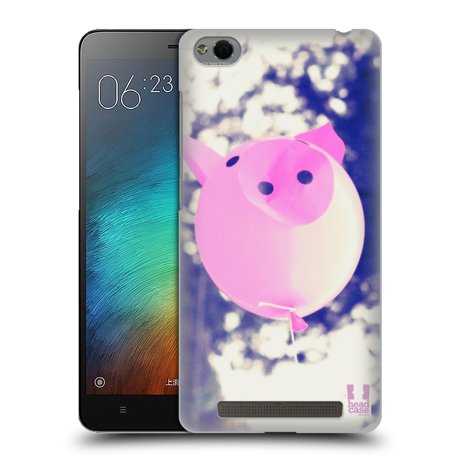 Plastové pouzdro na mobil Xiaomi Redmi 3 HEAD CASE BALON PAŠÍK
