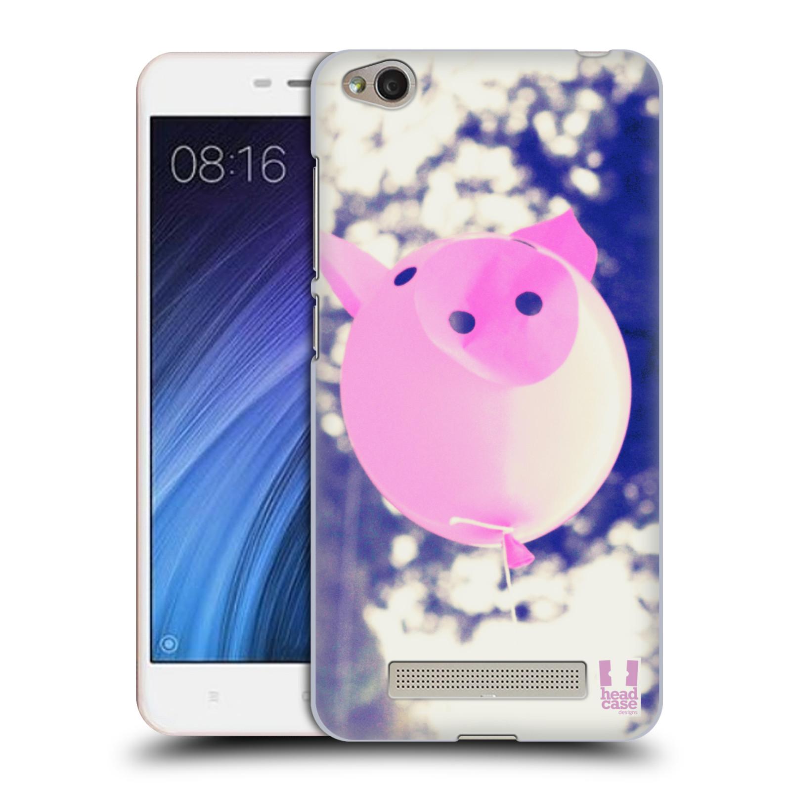 Plastové pouzdro na mobil Xiaomi Redmi 4A HEAD CASE BALON PAŠÍK