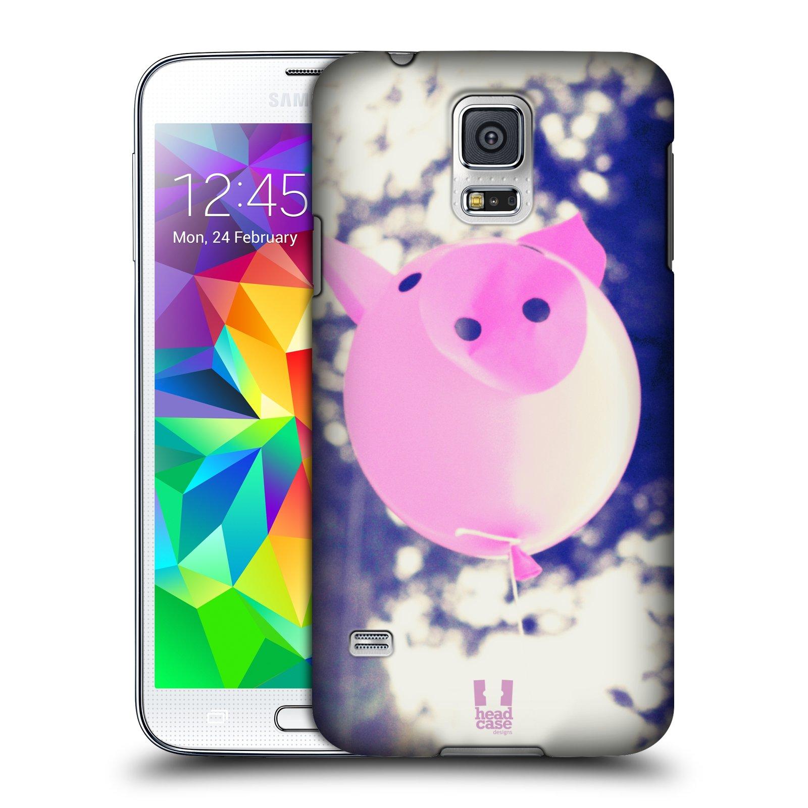 Plastové pouzdro na mobil Samsung Galaxy S5 Neo HEAD CASE BALON PAŠÍK
