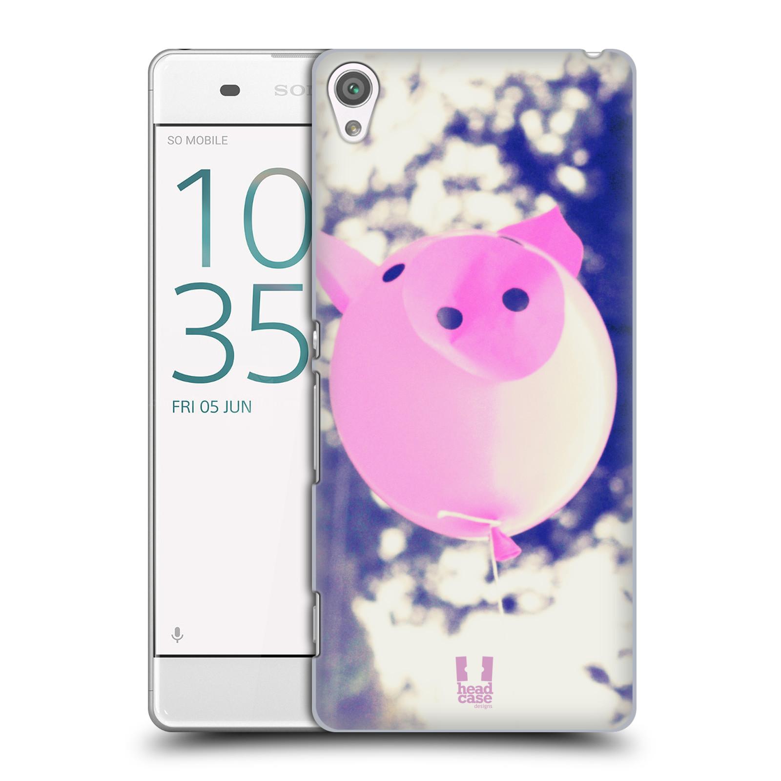 Plastové pouzdro na mobil Sony Xperia XA HEAD CASE BALON PAŠÍK