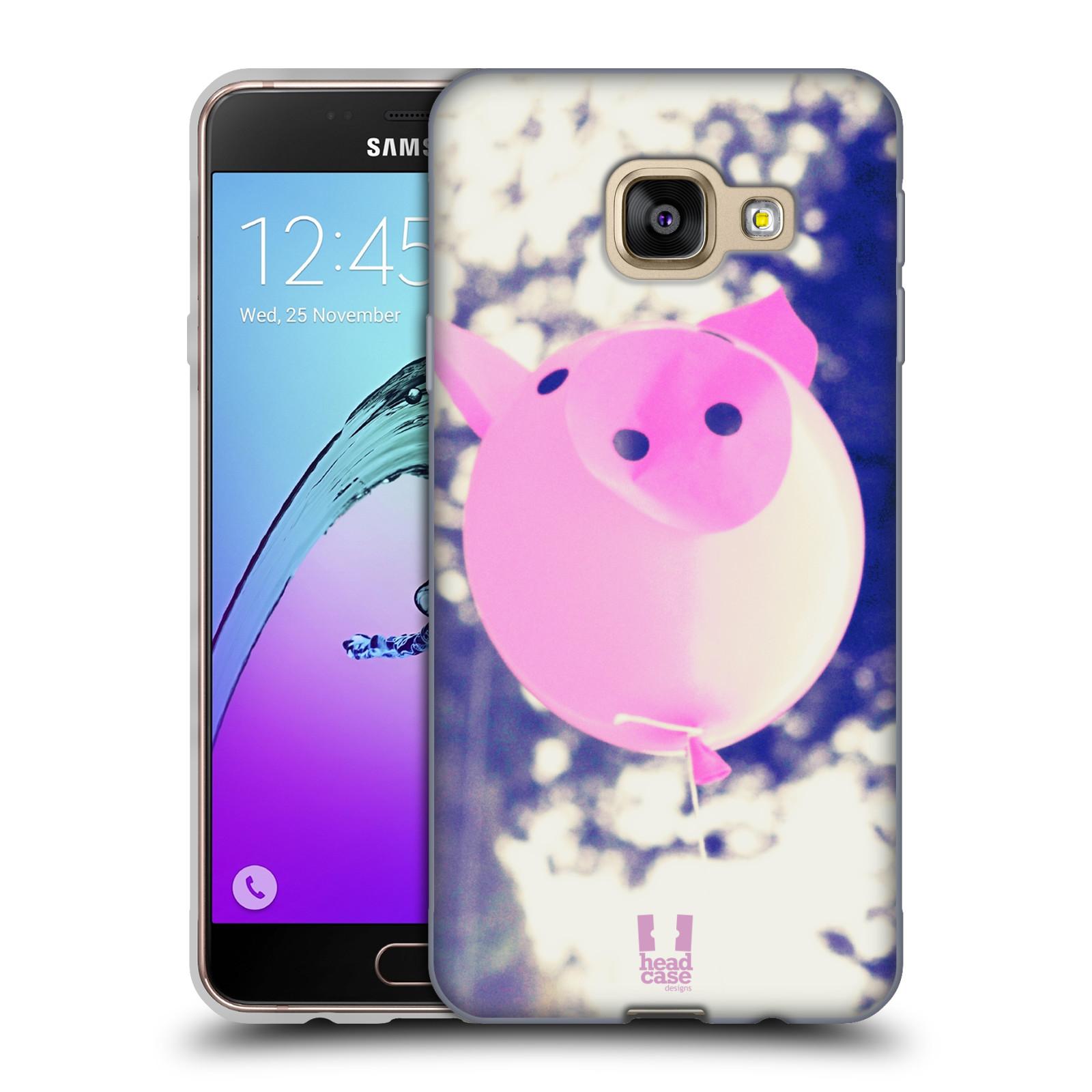 Silikonové pouzdro na mobil Samsung Galaxy A3 (2016) HEAD CASE BALON PAŠÍK