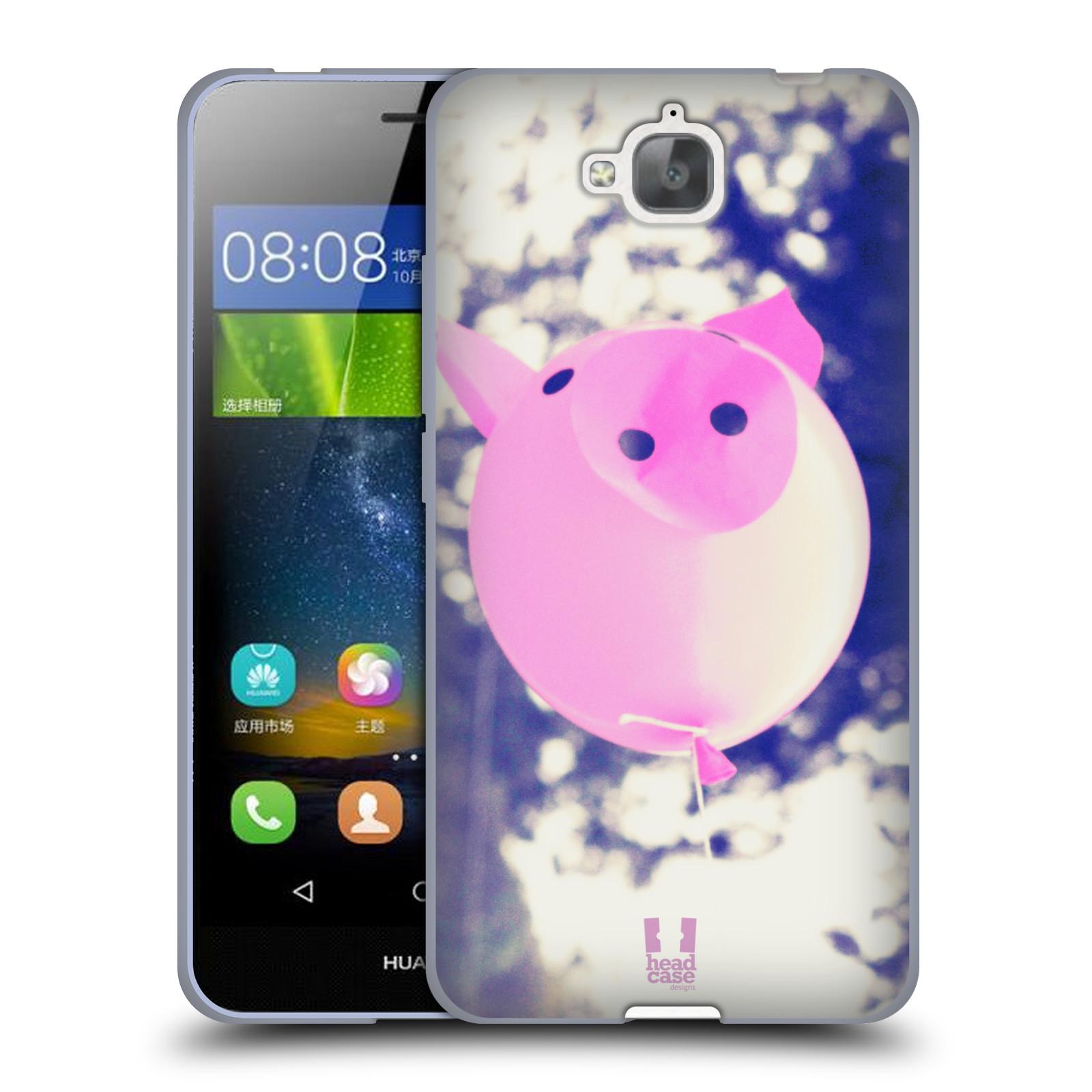 Silikonové pouzdro na mobil Huawei Y6 Pro Dual Sim HEAD CASE BALON PAŠÍK