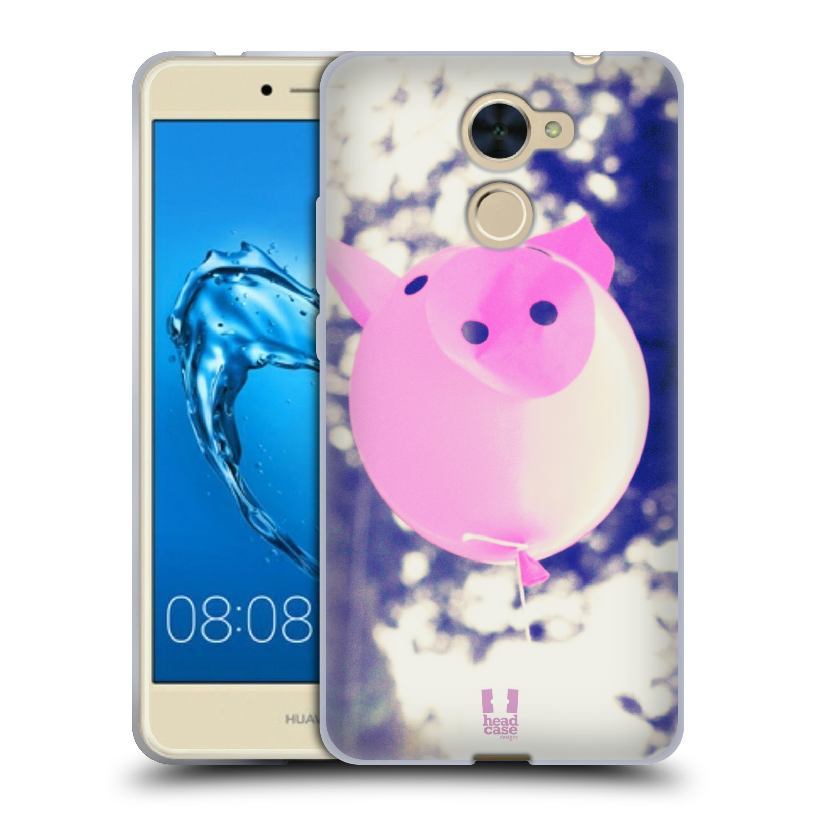 Silikonové pouzdro na mobil Huawei Y7 - Head Case - BALON PAŠÍK