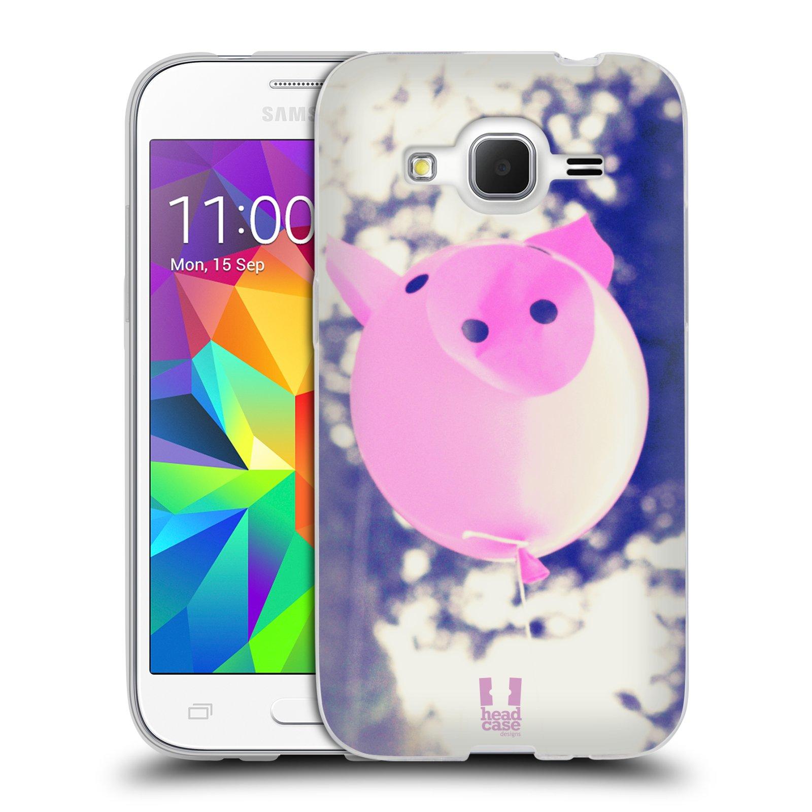 Silikonové pouzdro na mobil Samsung Galaxy Core Prime LTE HEAD CASE BALON PAŠÍK