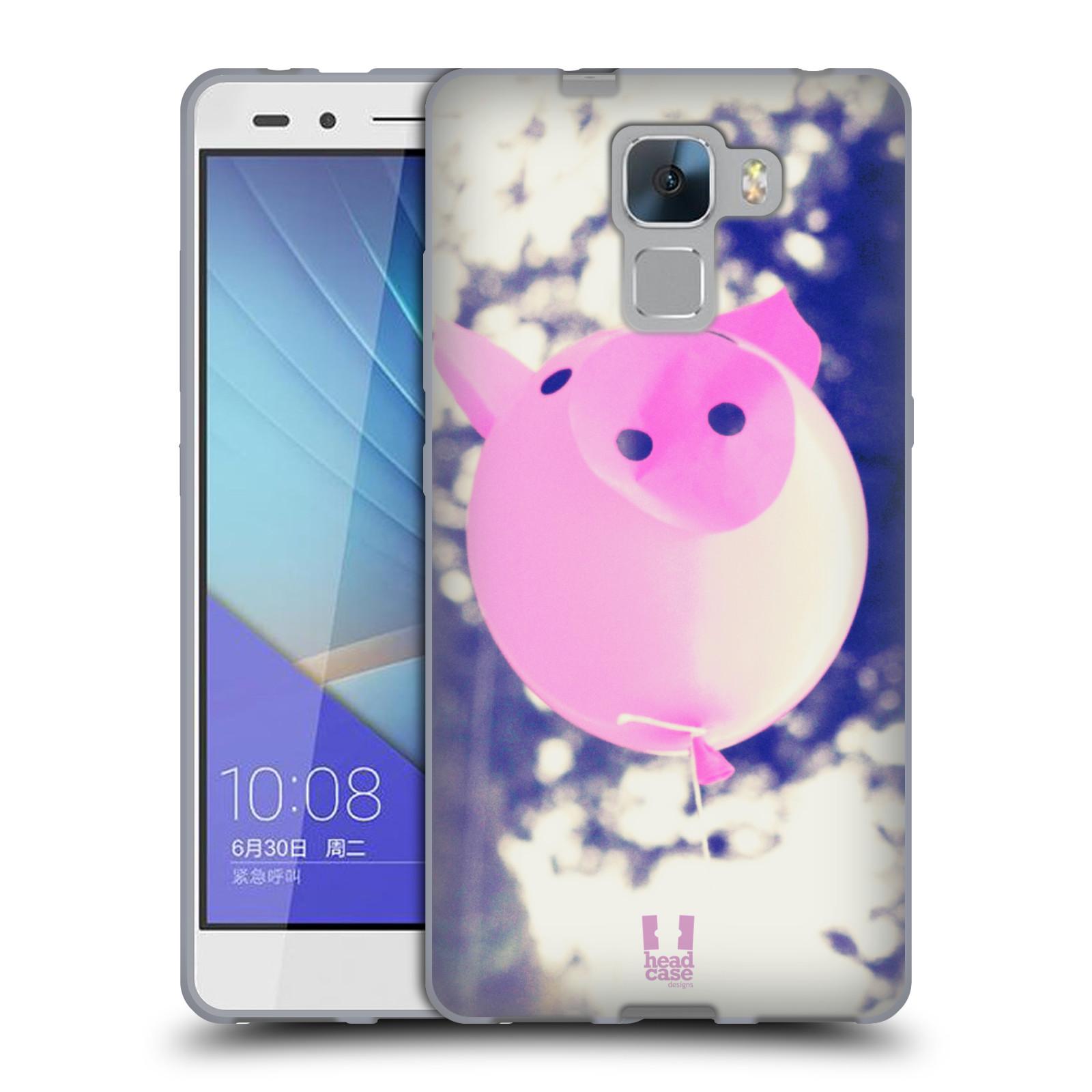 Silikonové pouzdro na mobil Honor 7 HEAD CASE BALON PAŠÍK