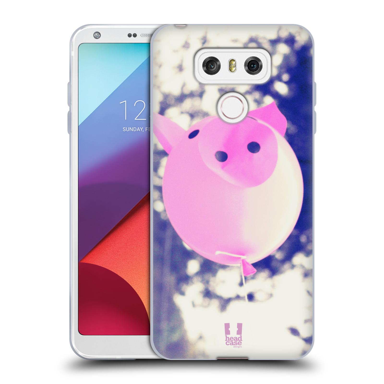 Silikonové pouzdro na mobil LG G6 - Head Case BALON PAŠÍK