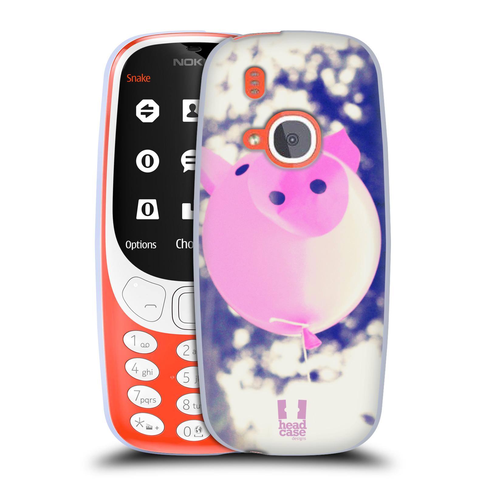 Silikonové pouzdro na mobil Nokia 3310 - Head Case - BALON PAŠÍK