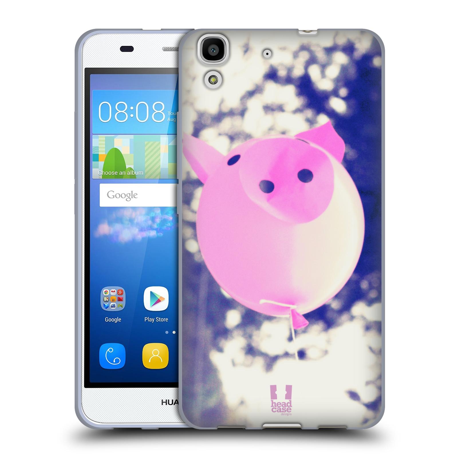 Silikonové pouzdro na mobil Huawei Y6 HEAD CASE BALON PAŠÍK