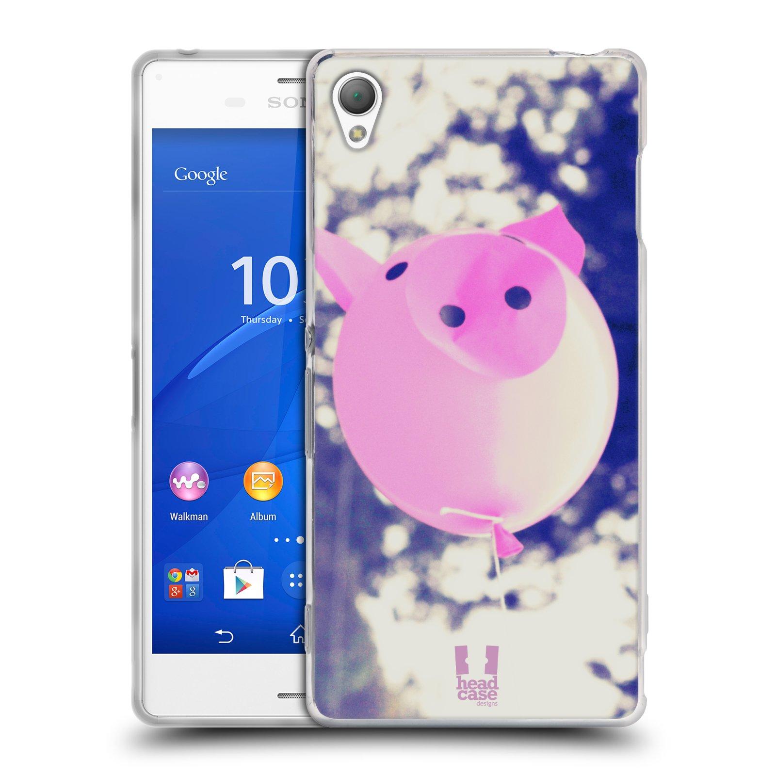 Silikonové pouzdro na mobil Sony Xperia Z3 D6603 HEAD CASE BALON PAŠÍK