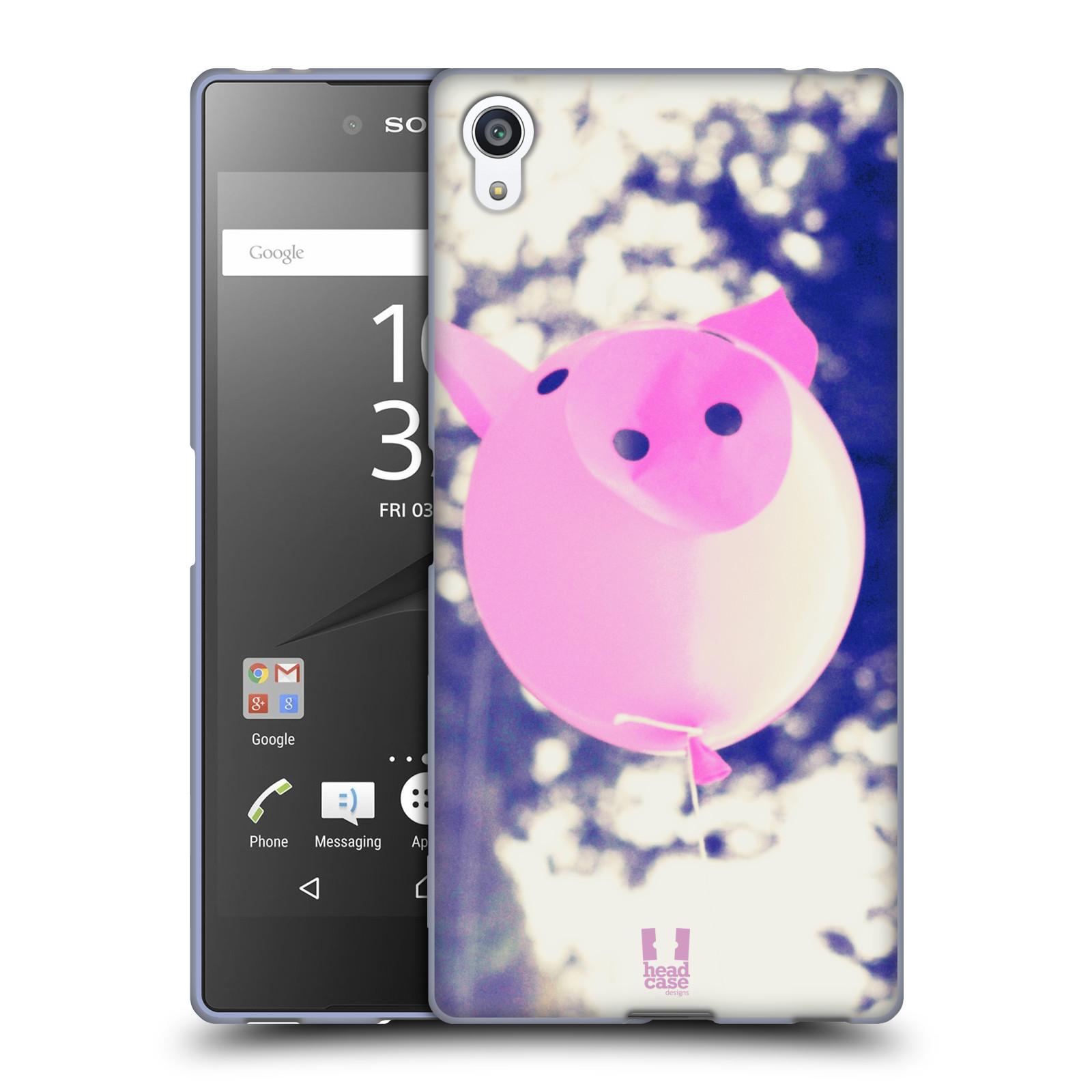 Silikonové pouzdro na mobil Sony Xperia Z5 Premium HEAD CASE BALON PAŠÍK