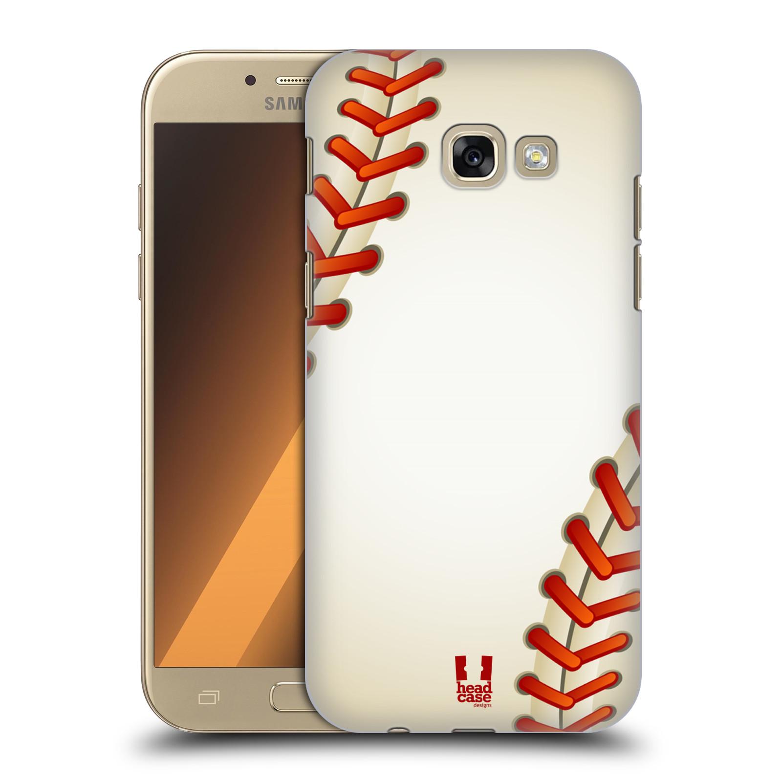 Plastové pouzdro na mobil Samsung Galaxy A5 (2017) HEAD CASE Baseballový míček