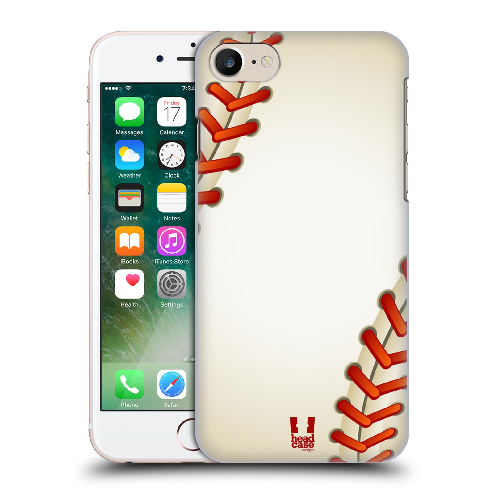 Plastové pouzdro na mobil Apple iPhone 7 HEAD CASE Baseballový míček