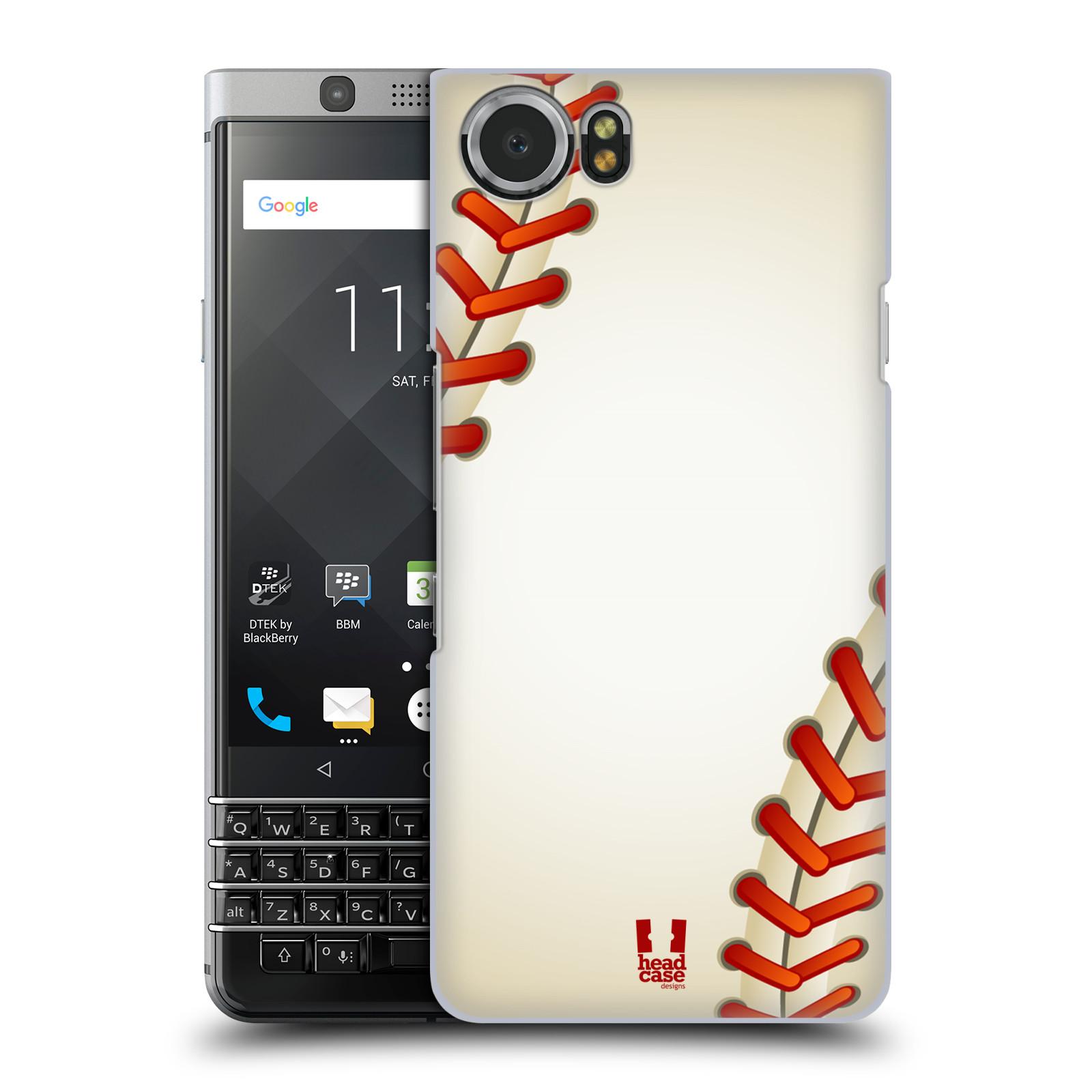 Plastové pouzdro na mobil BlackBerry KEYone - Head Case - Baseballový míček