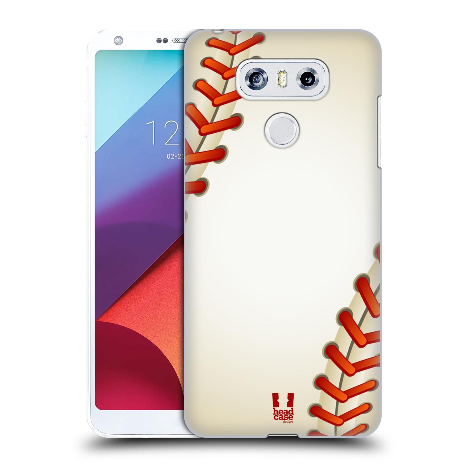 Plastové pouzdro na mobil LG G6 - Head Case Baseballový míček
