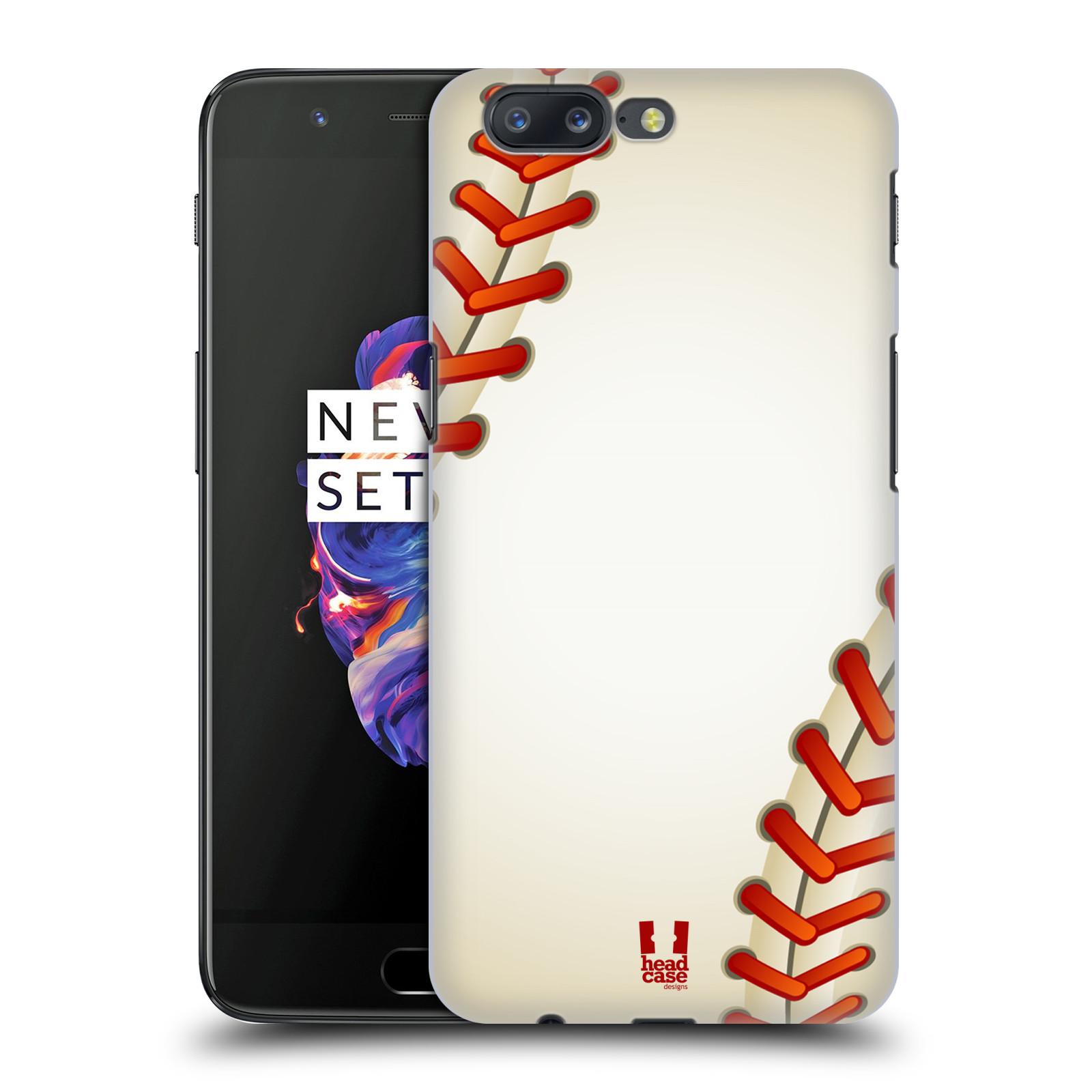Plastové pouzdro na mobil OnePlus 5 - Head Case - Baseballový míček