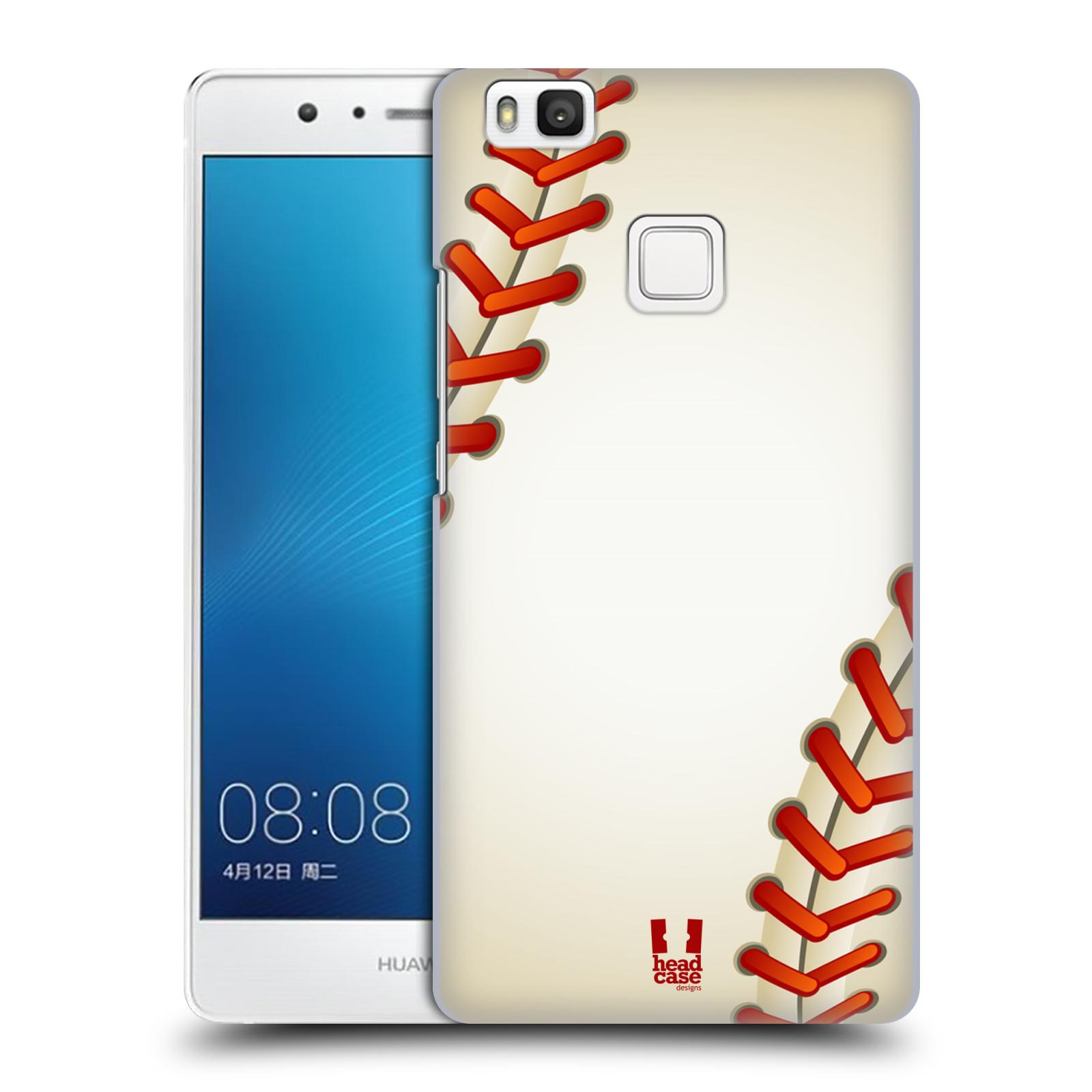 Plastové pouzdro na mobil Huawei P9 Lite HEAD CASE Baseballový míček