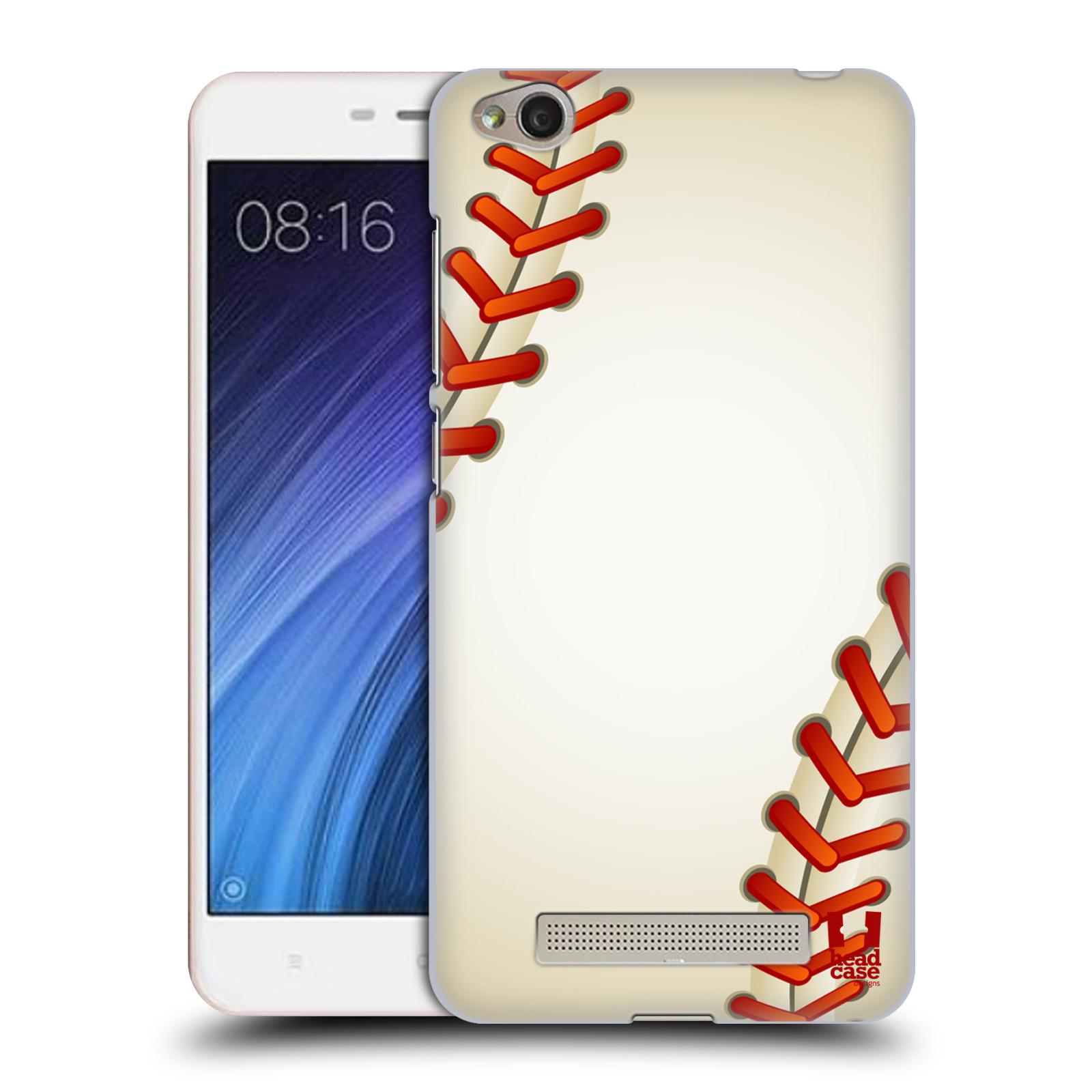 Plastové pouzdro na mobil Xiaomi Redmi 4A HEAD CASE Baseballový míček