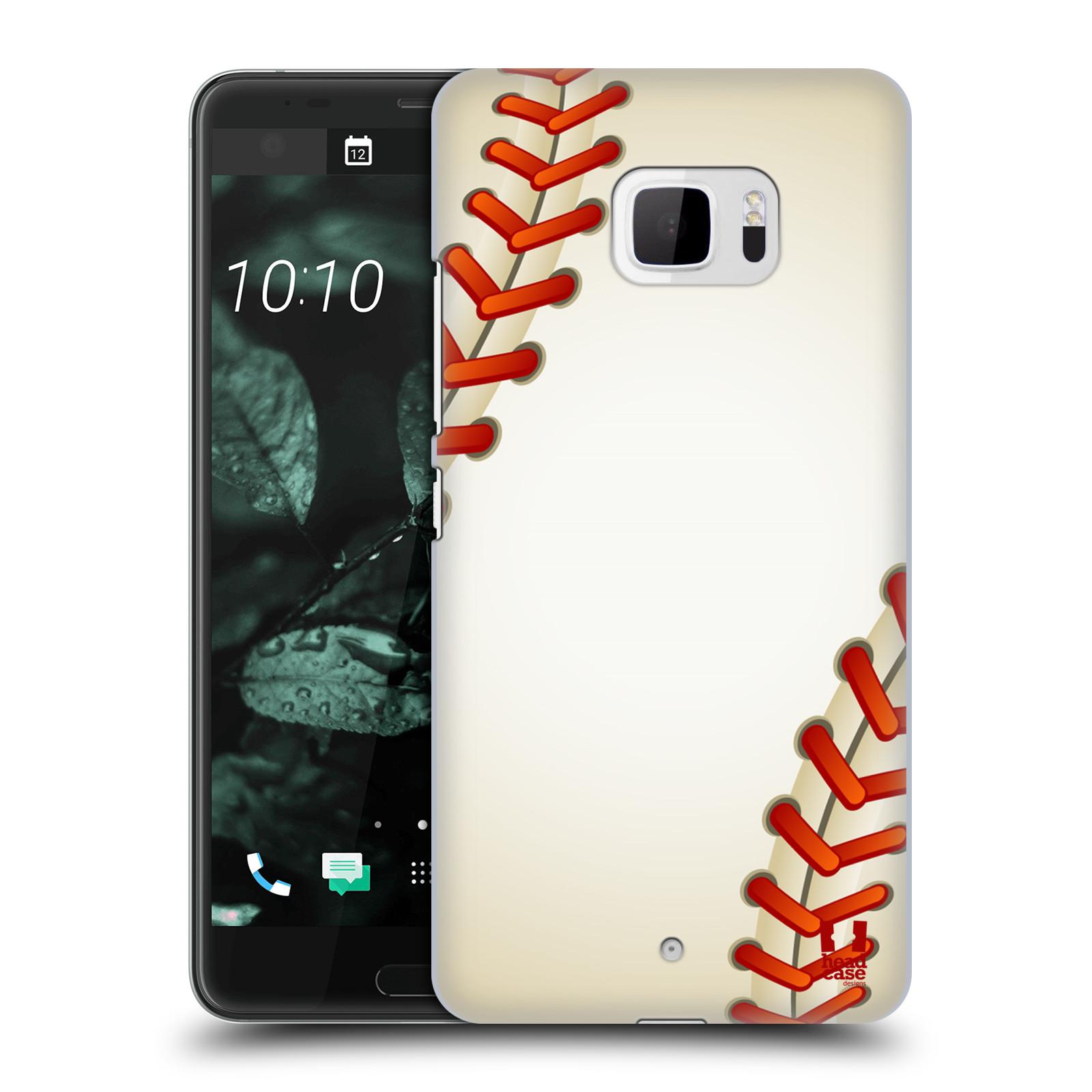 Plastové pouzdro na mobil HTC U Ultra Head Case - Baseballový míček (Plastový kryt či obal na mobilní telefon HTC U Ultra (99HALT015-00))