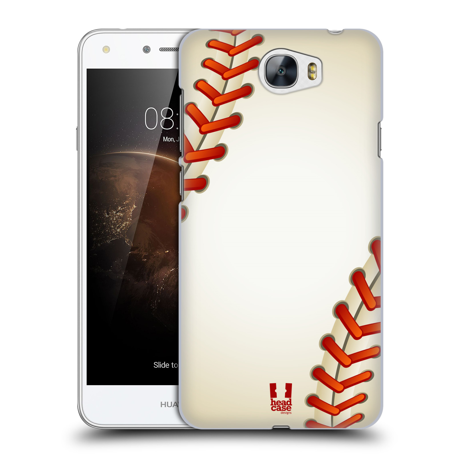 Plastové pouzdro na mobil Huawei Y5 II HEAD CASE Baseballový míček