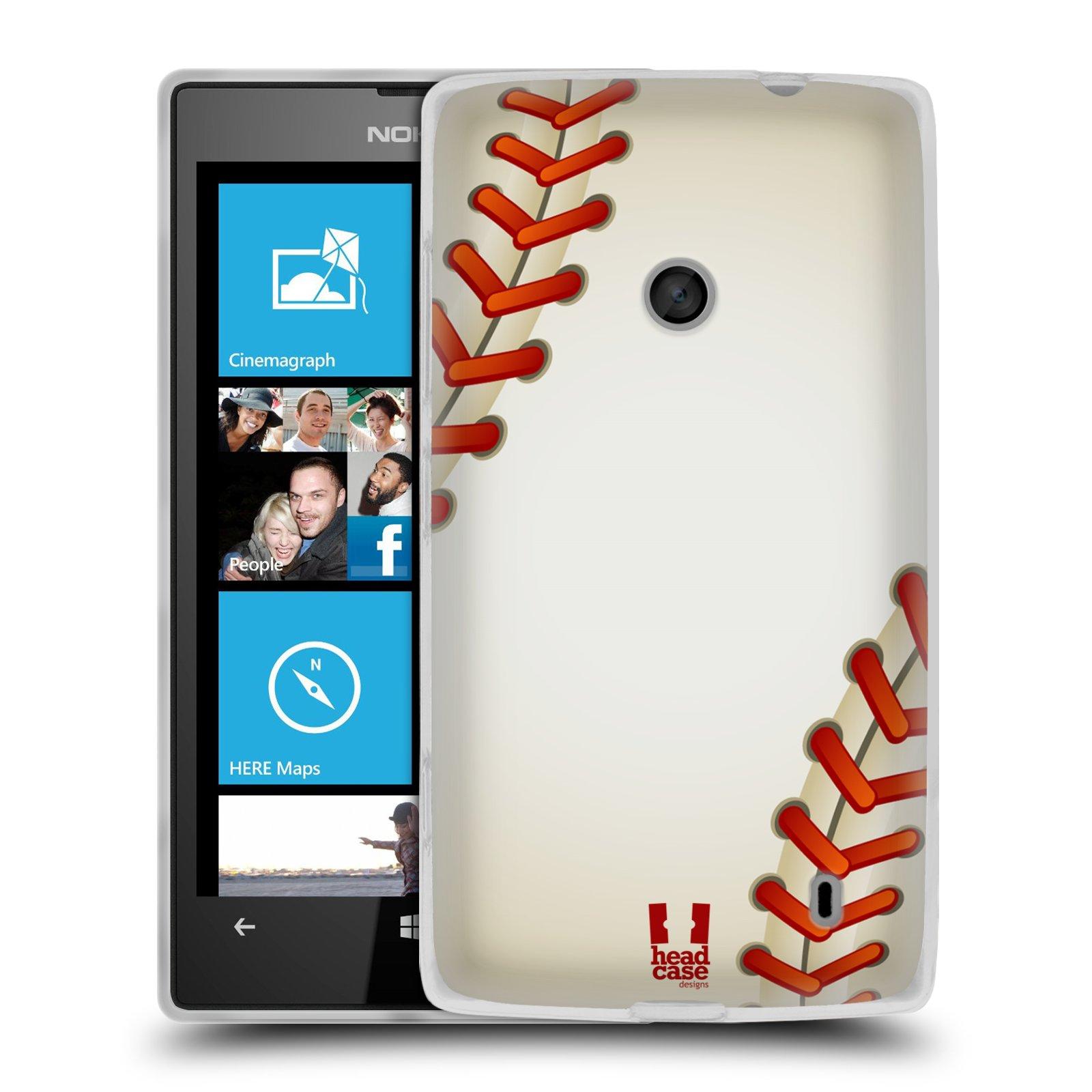 Silikonové pouzdro na mobil Nokia Lumia 520 HEAD CASE KRIKEŤÁK (Silikonový Kryt či obal na mobilní telefon Nokia Lumia 520)