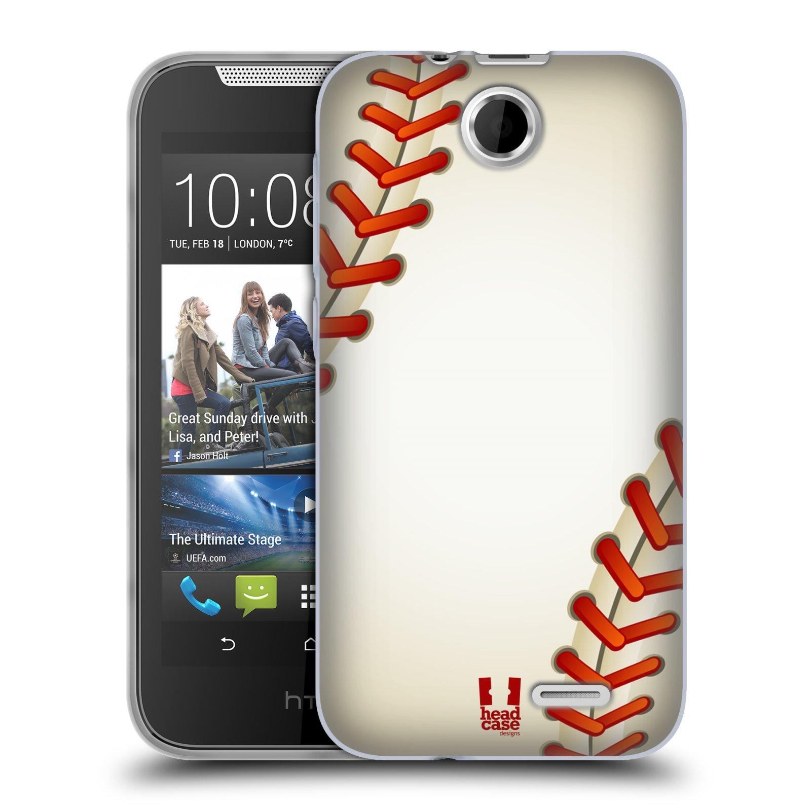 Silikonové pouzdro na mobil HTC Desire 310 HEAD CASE KRIKEŤÁK