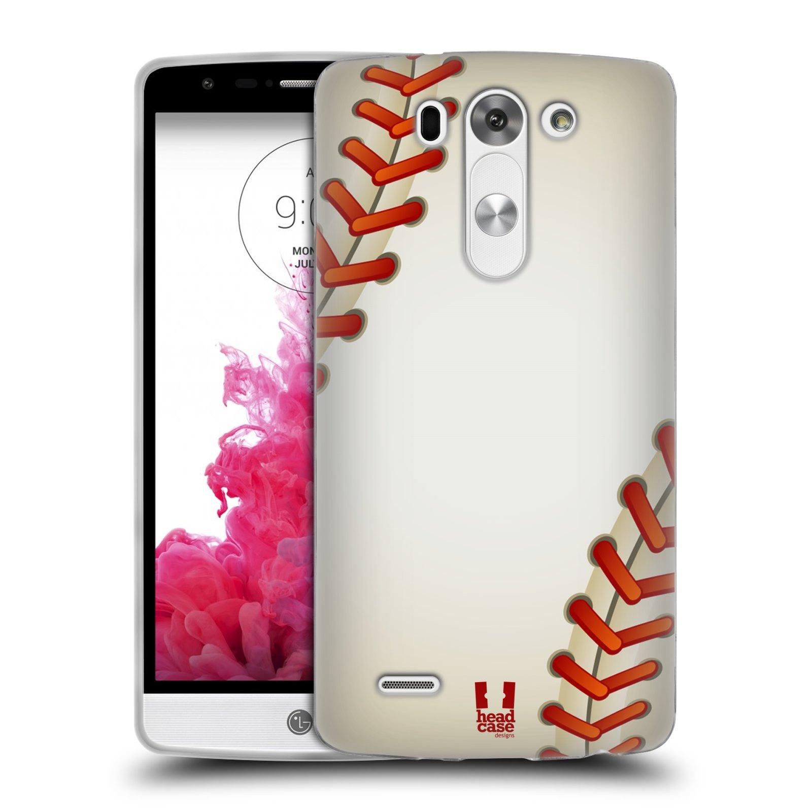 Silikonové pouzdro na mobil LG G3s HEAD CASE KRIKEŤÁK