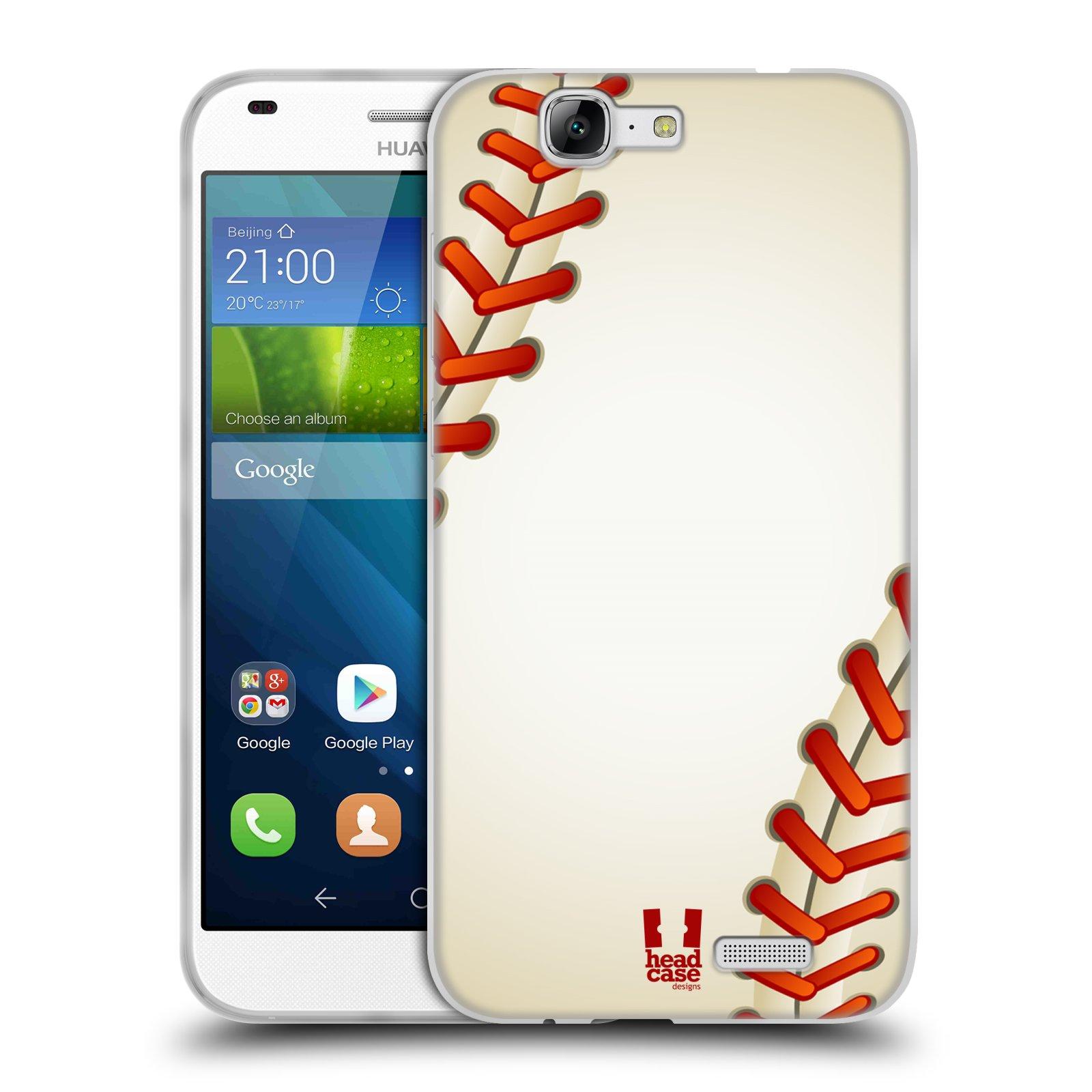 Silikonové pouzdro na mobil Huawei Ascend G7 HEAD CASE KRIKEŤÁK (Silikonový kryt či obal na mobilní telefon Huawei Ascend G7)
