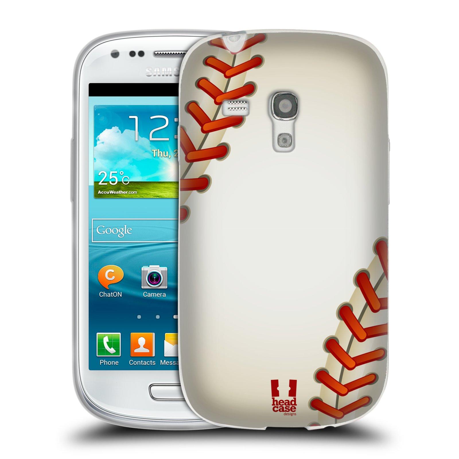 Silikonové pouzdro na mobil Samsung Galaxy S III Mini HEAD CASE KRIKEŤÁK (Silikonový kryt či obal na mobilní telefon Samsung Galaxy S III Mini GT-i8190)