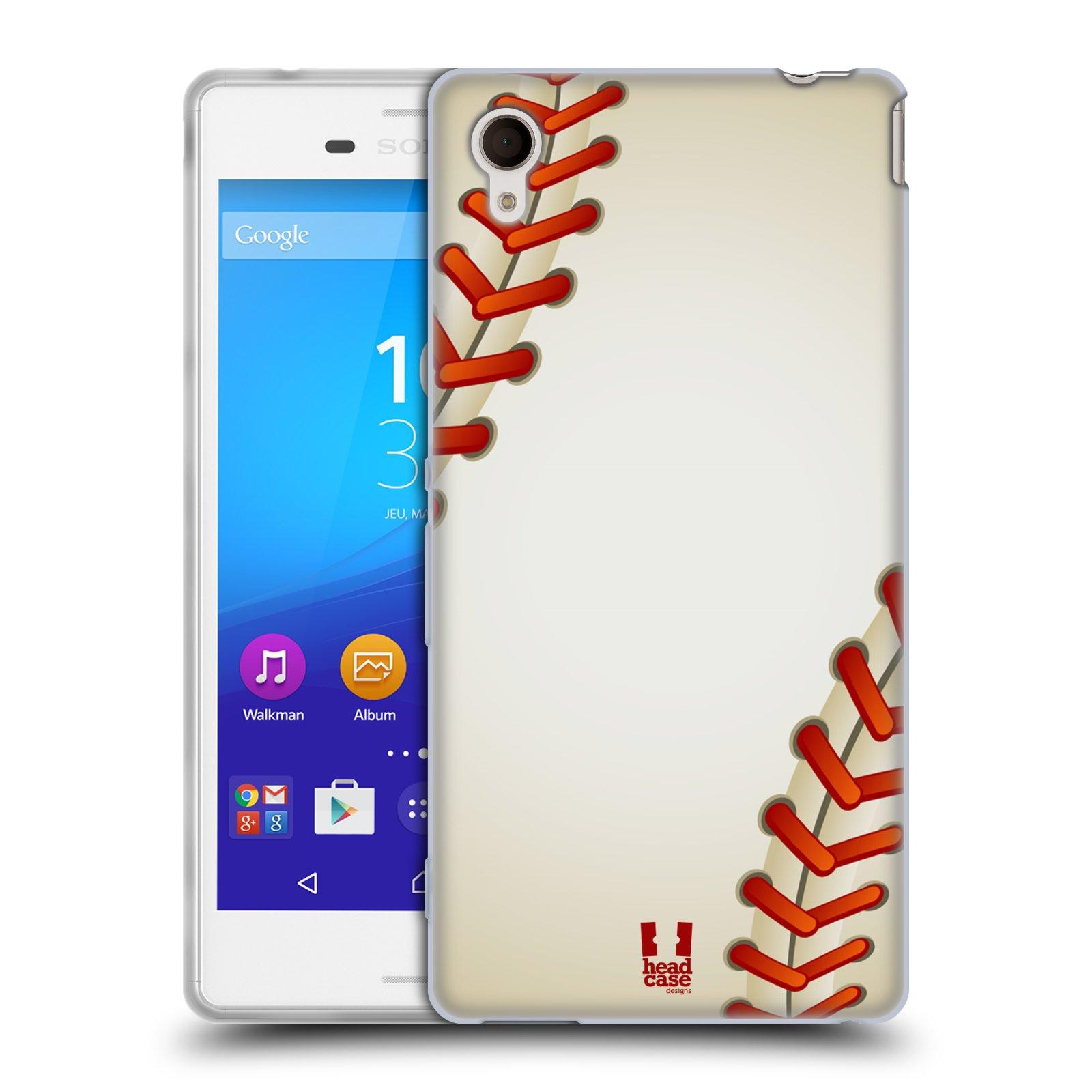 Silikonové pouzdro na mobil Sony Xperia M4 Aqua E2303 HEAD CASE KRIKEŤÁK (Silikonový kryt či obal na mobilní telefon Sony Xperia M4 Aqua a M4 Aqua Dual SIM)