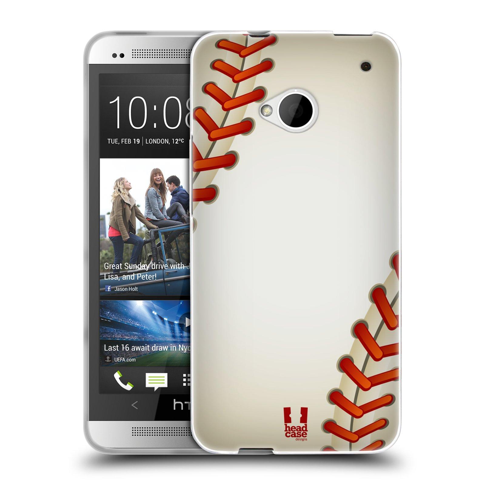 Silikonové pouzdro na mobil HTC ONE M7 HEAD CASE KRIKEŤÁK (Silikonový kryt či obal na mobilní telefon HTC ONE M7)