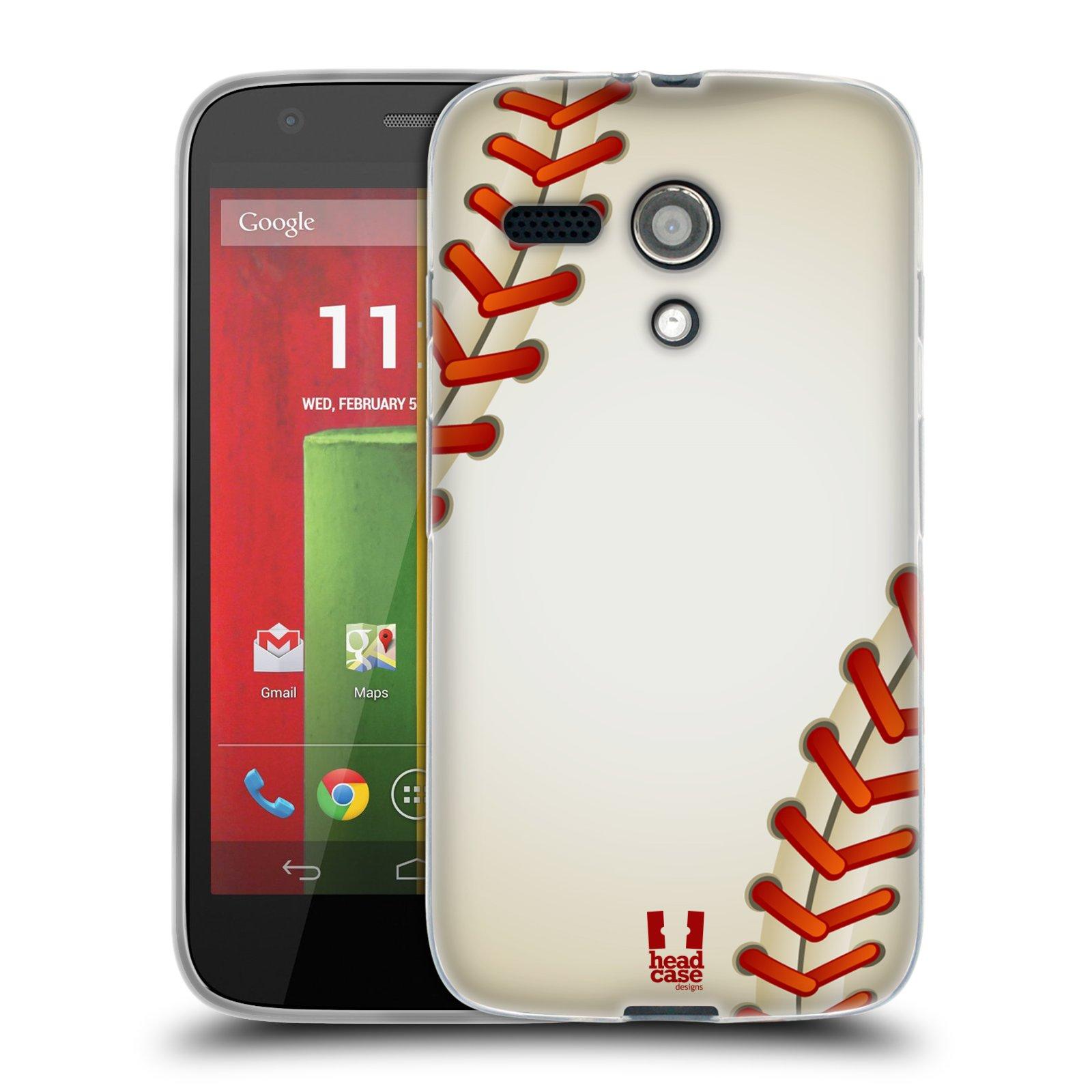 Silikonové pouzdro na mobil Motorola Moto G HEAD CASE KRIKEŤÁK (Silikonový kryt či obal na mobilní telefon Motorola Moto G)