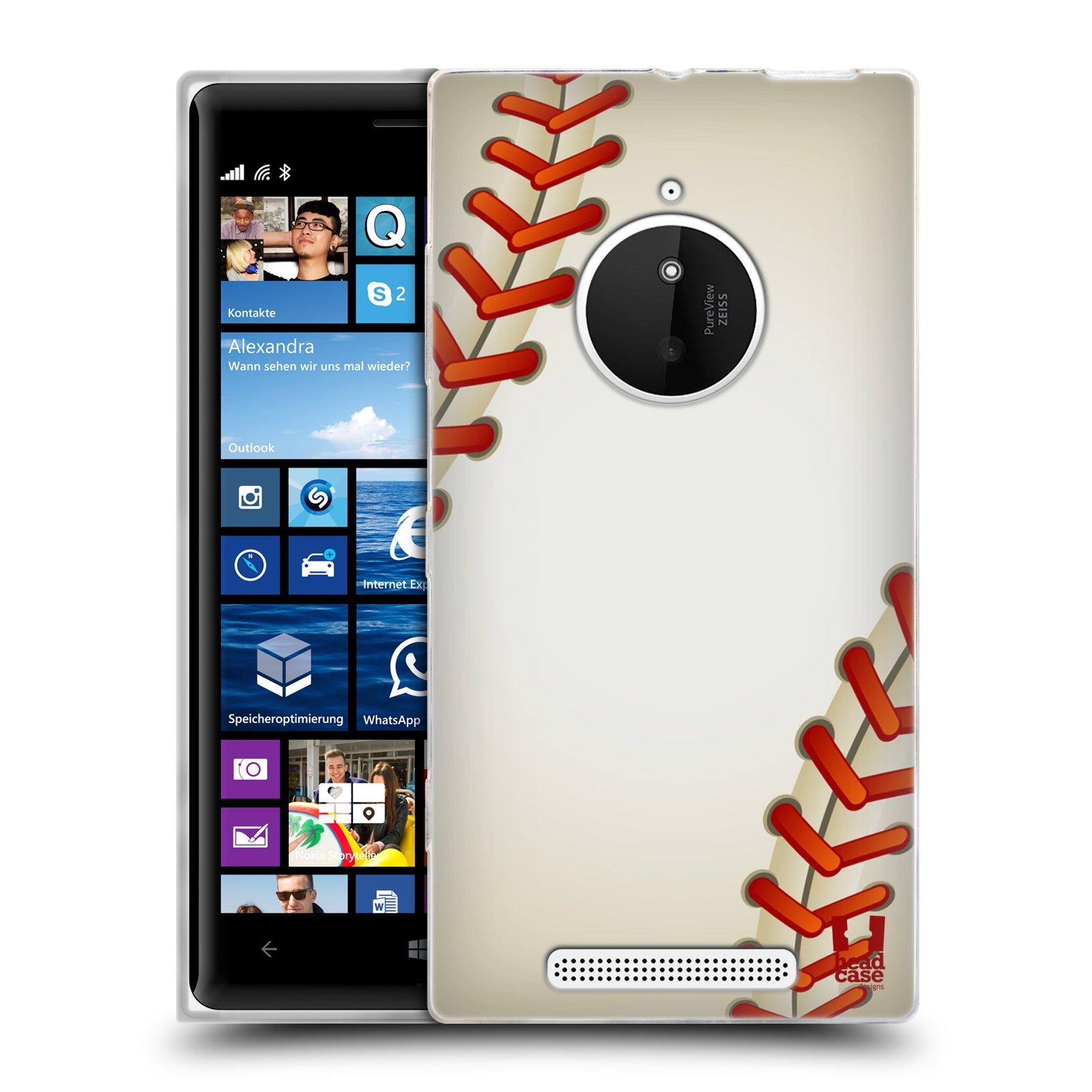 Silikonové pouzdro na mobil Nokia Lumia 830 HEAD CASE KRIKEŤÁK (Silikonový kryt či obal na mobilní telefon Nokia Lumia 830)