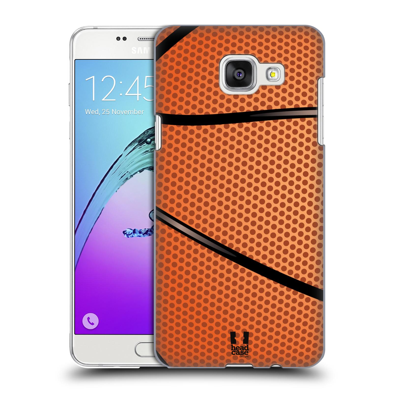 Plastové pouzdro na mobil Samsung Galaxy A5 (2016) HEAD CASE BASKEŤÁK