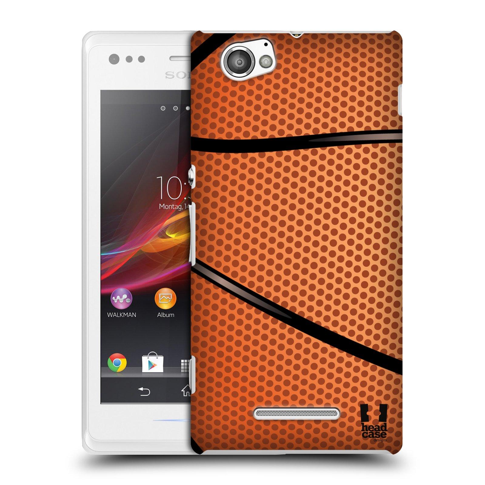 Plastové pouzdro na mobil Sony Xperia M C1905 HEAD CASE BASKEŤÁK