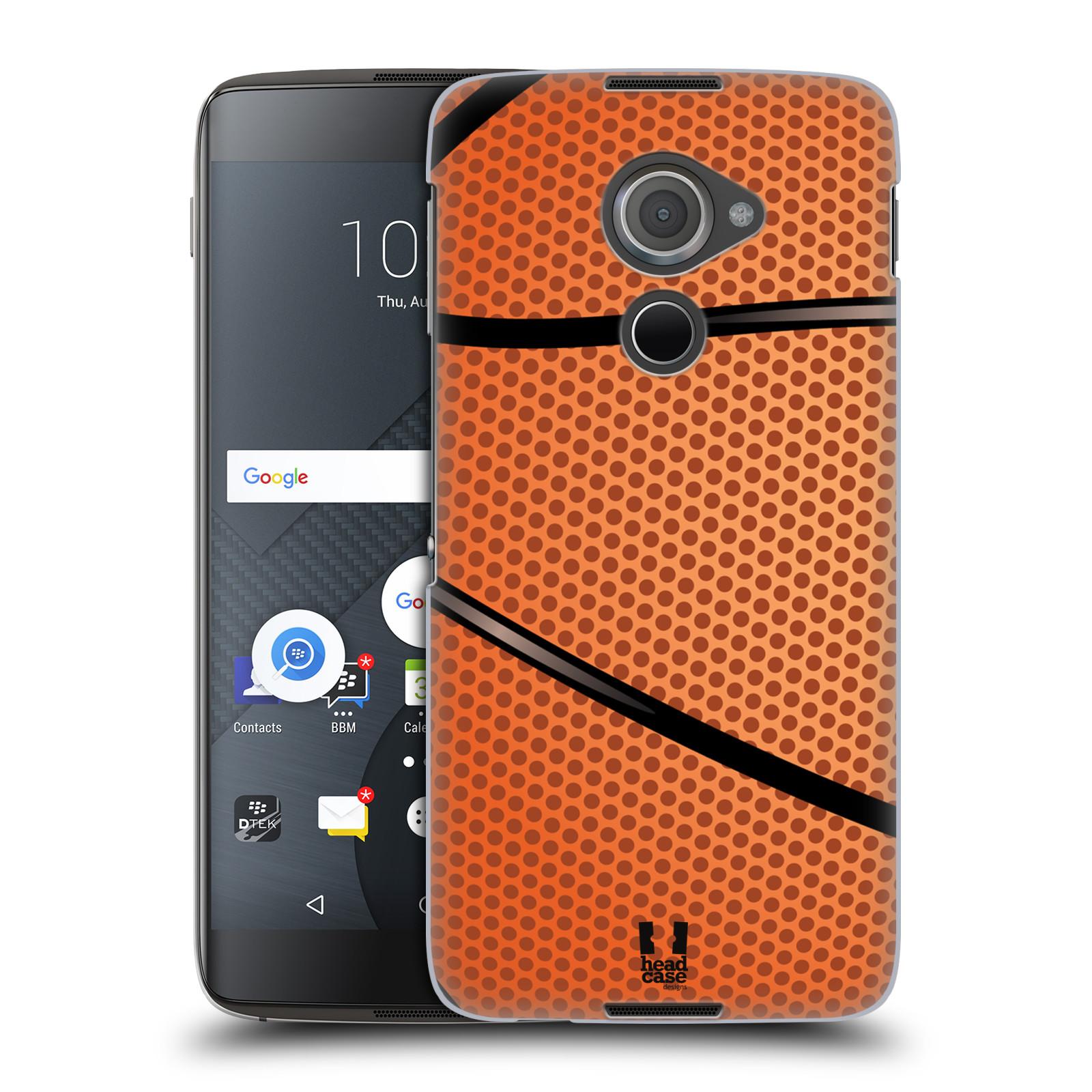 Plastové pouzdro na mobil Blackberry DTEK60 (Argon) - Head Case BASKEŤÁK
