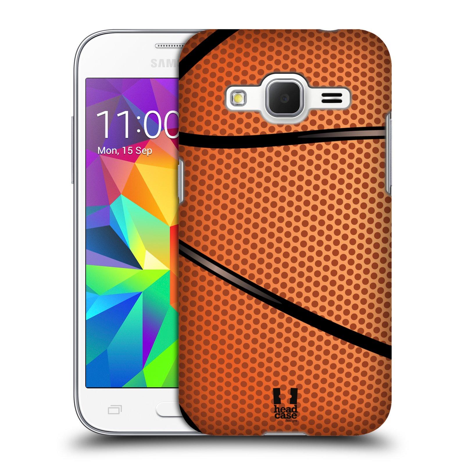 Plastové pouzdro na mobil Samsung Galaxy Core Prime LTE HEAD CASE BASKEŤÁK