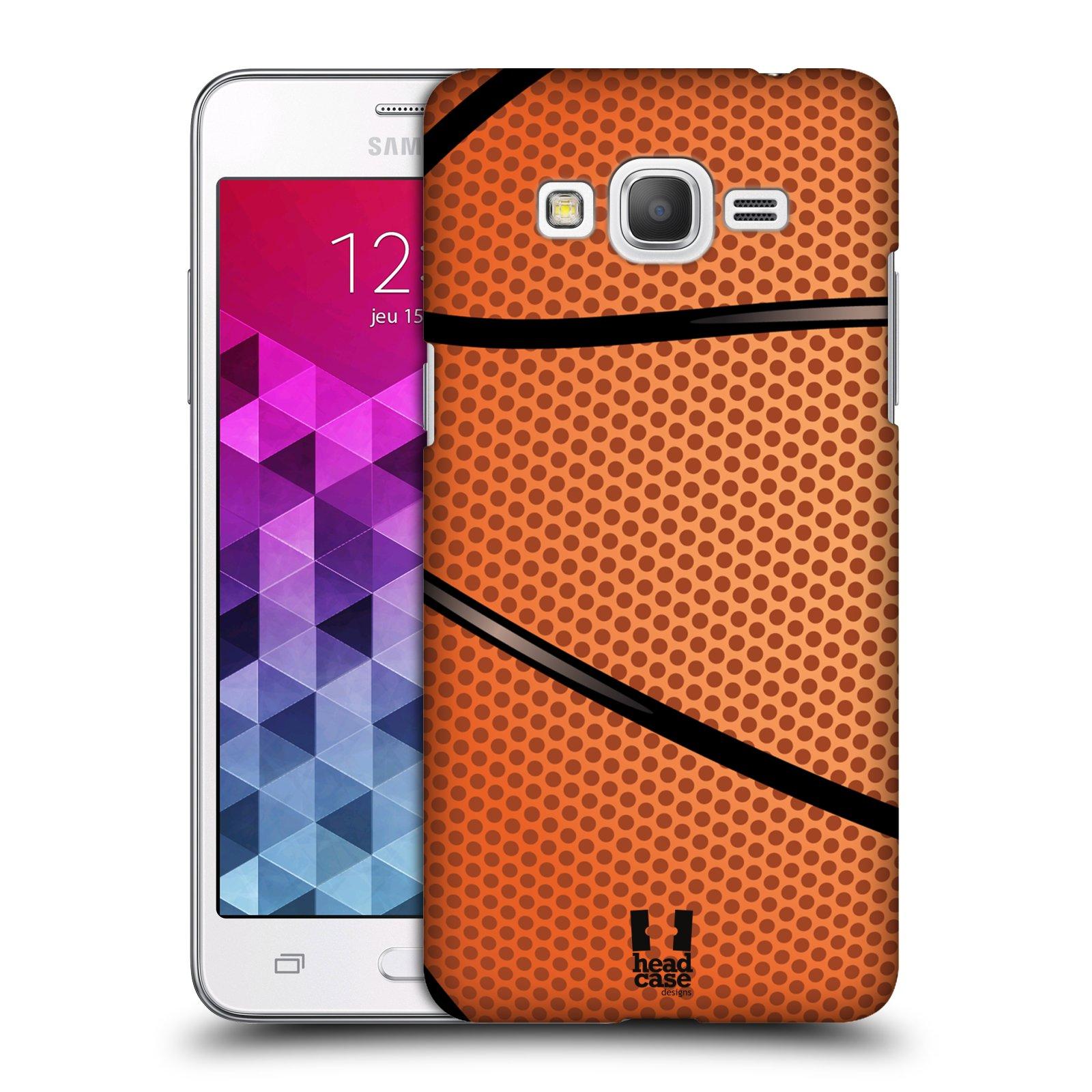 Plastové pouzdro na mobil Samsung Galaxy Grand Prime VE HEAD CASE BASKEŤÁK